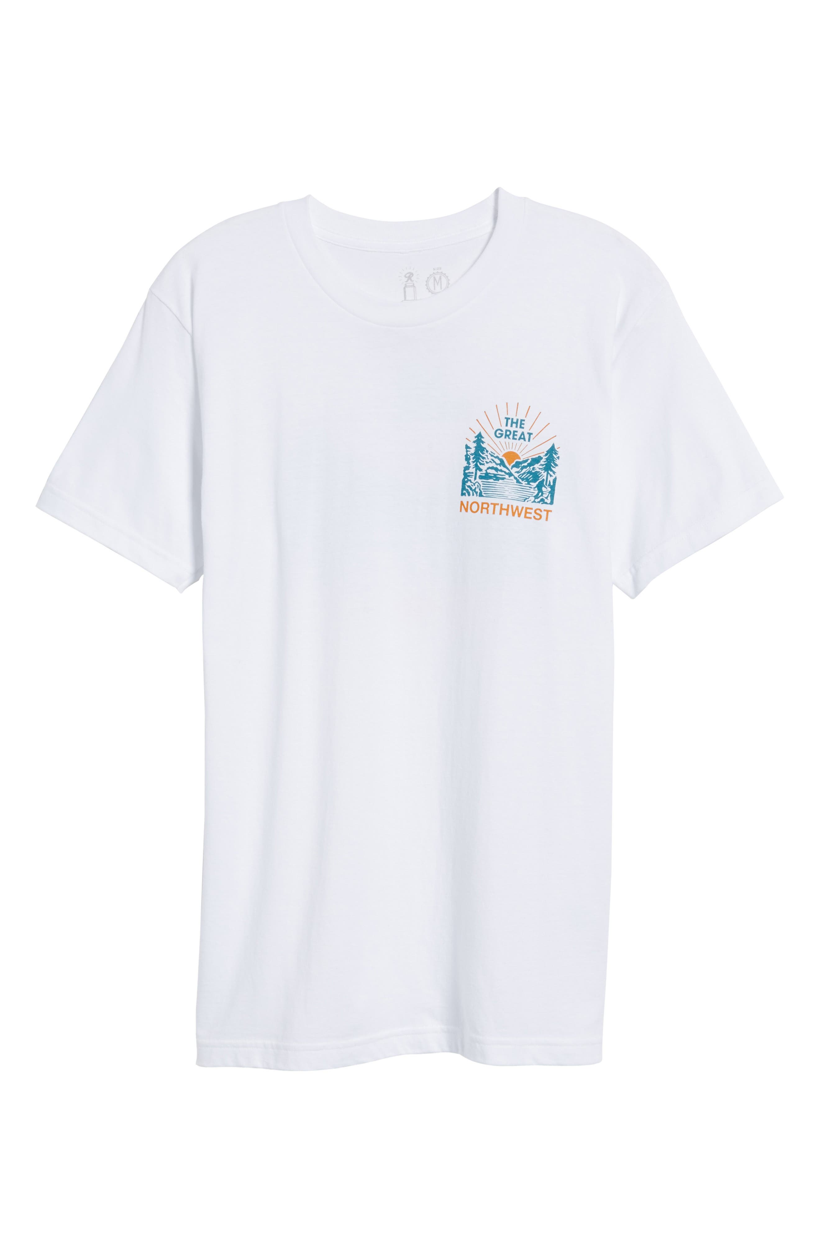Squatch Valley 2 Graphic T-Shirt,                             Alternate thumbnail 6, color,                             100