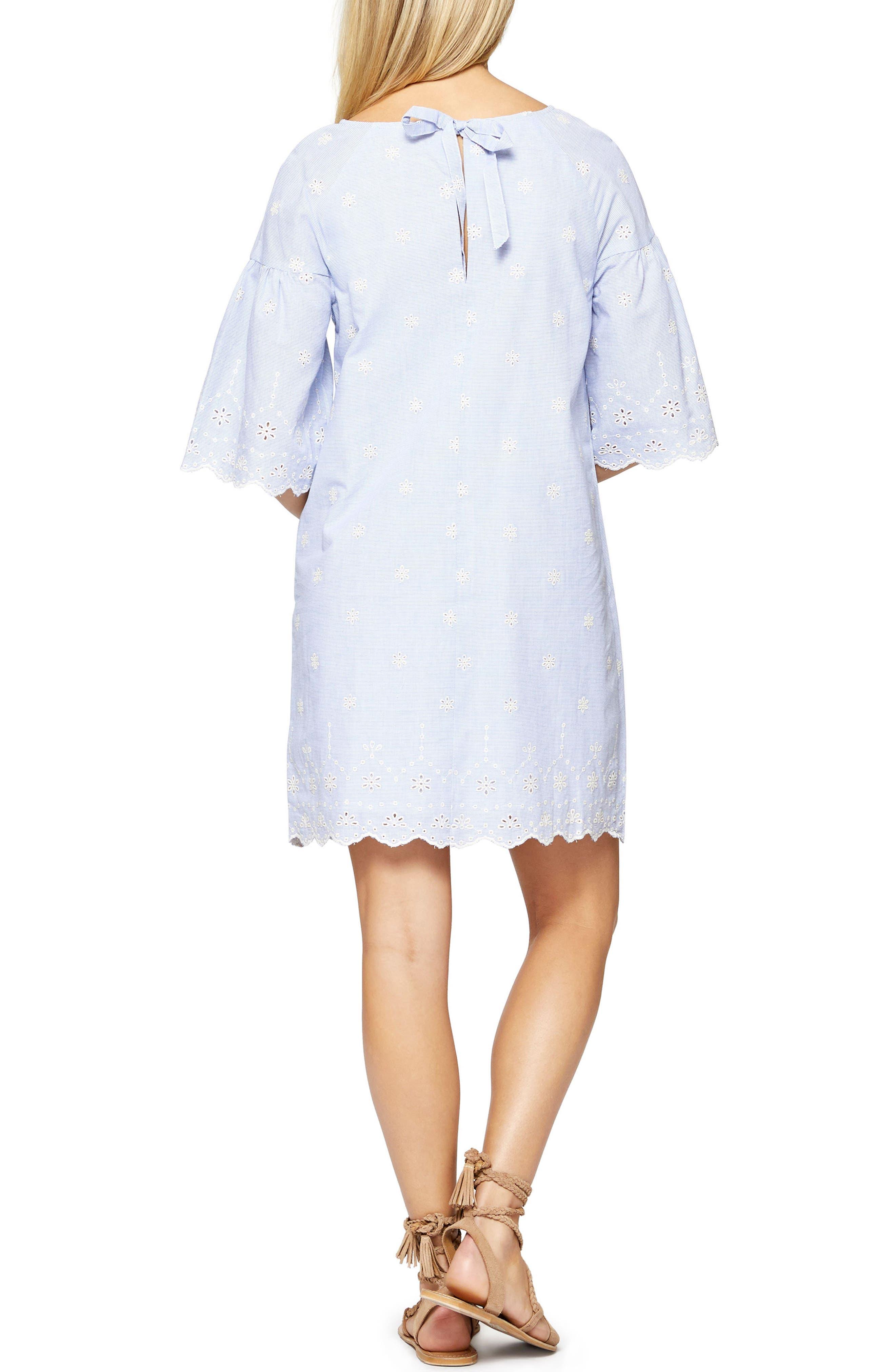 Bellflower Day Dress,                             Alternate thumbnail 2, color,                             496