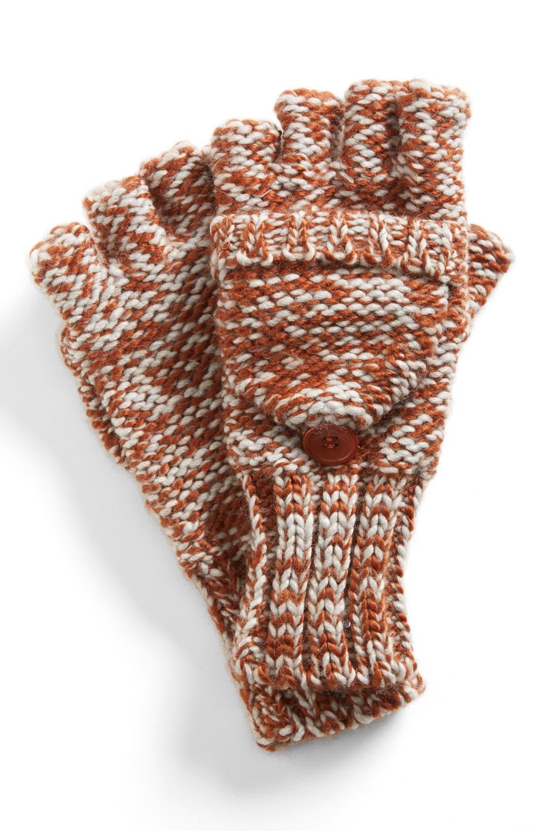 Marled 'Pop Top' Gloves,                             Main thumbnail 1, color,                             020