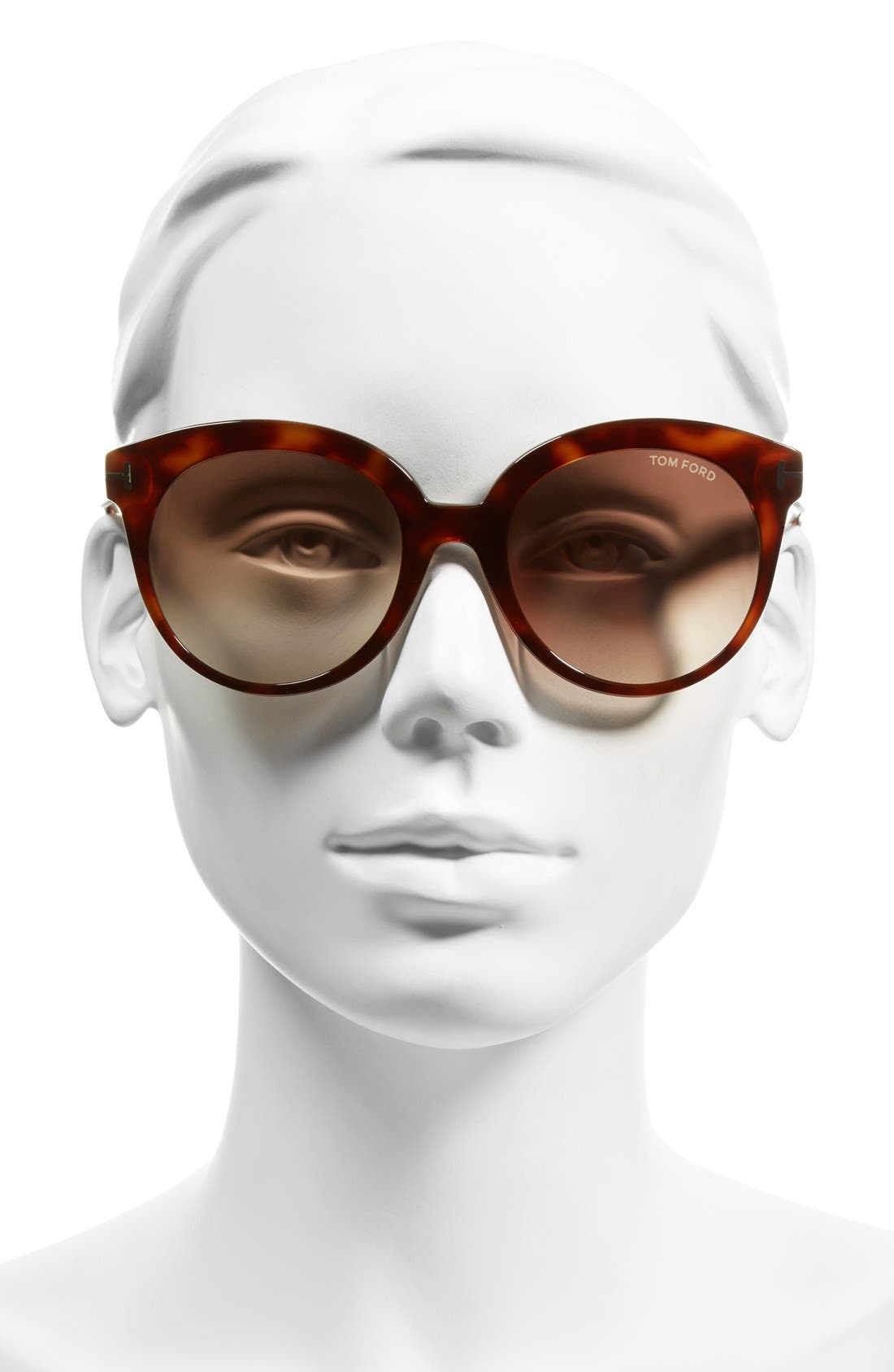 'Monica' 54mm Retro Sunglasses,                             Alternate thumbnail 8, color,