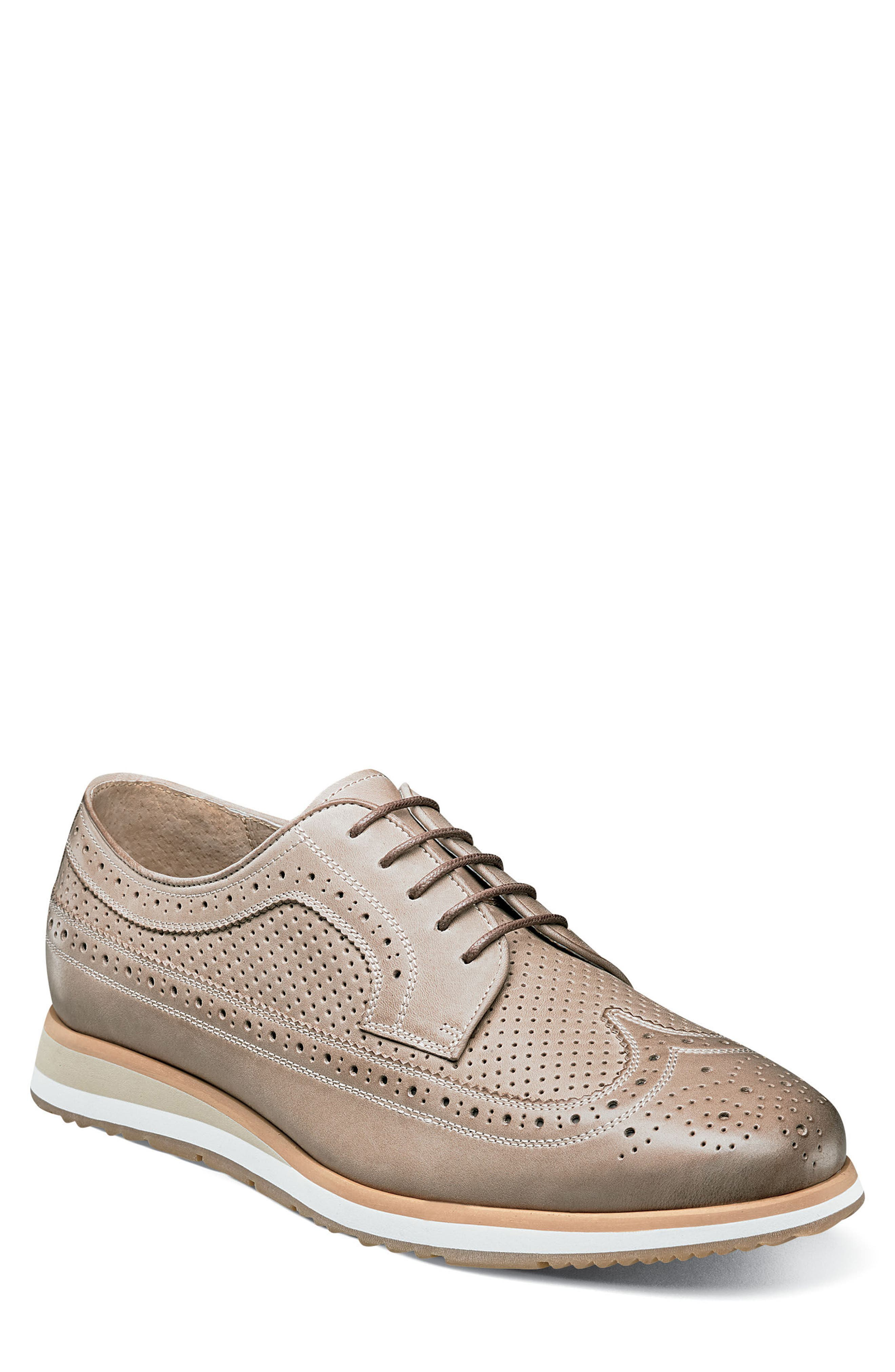 Limited Flux Perforated Wingtip Derby,                             Main thumbnail 2, color,