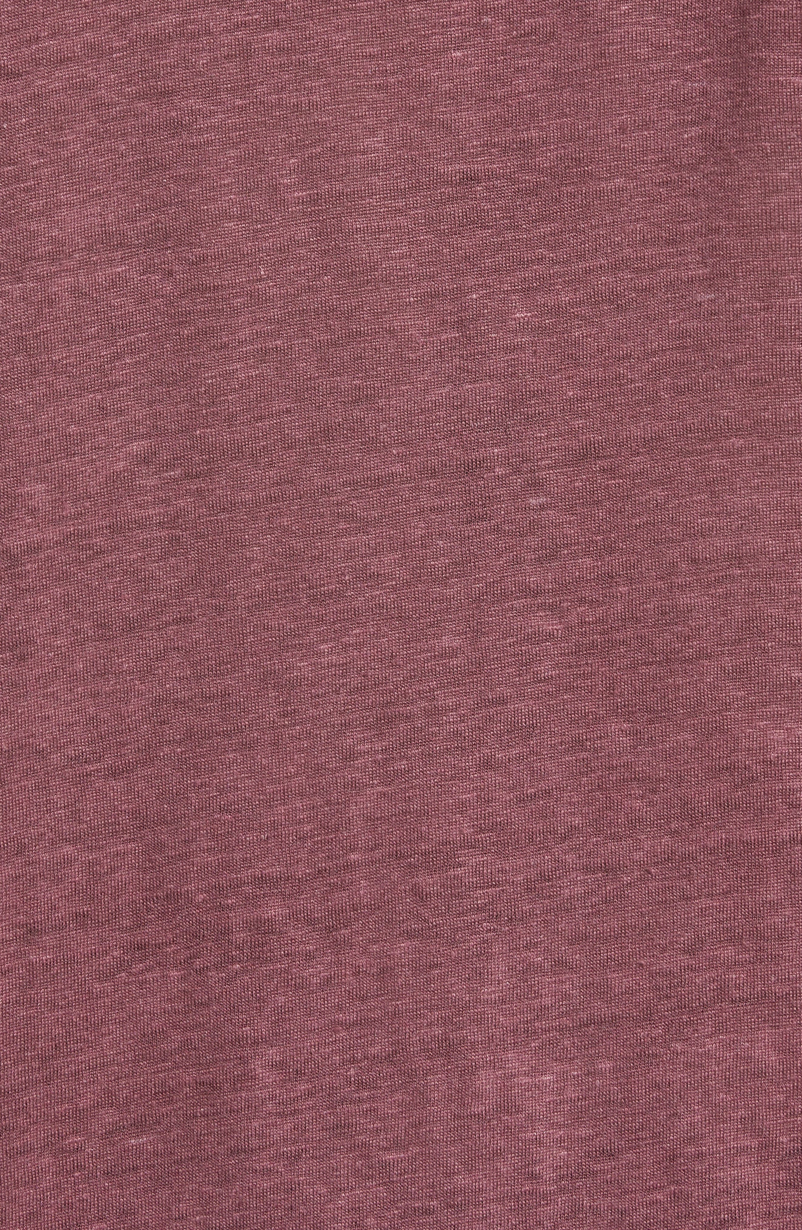 Collection Linen Henley,                             Alternate thumbnail 2, color,                             612
