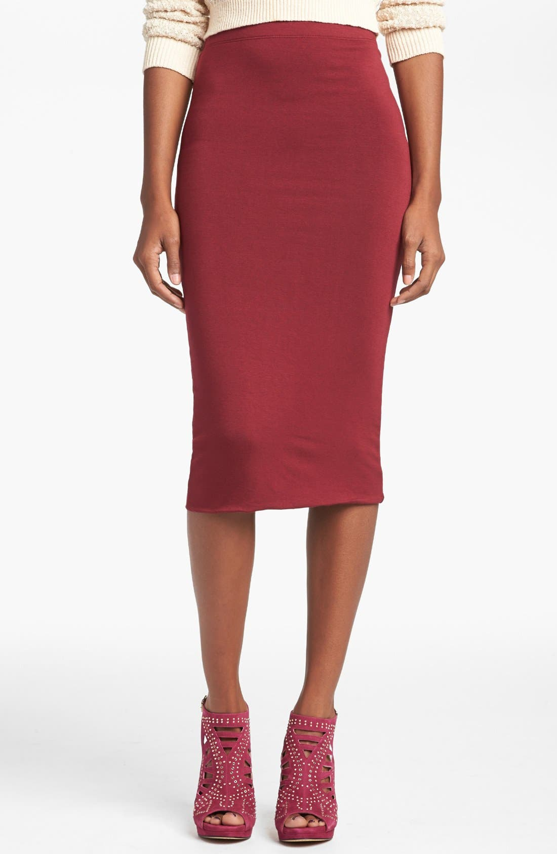 Double Layered Tube Skirt,                             Main thumbnail 10, color,