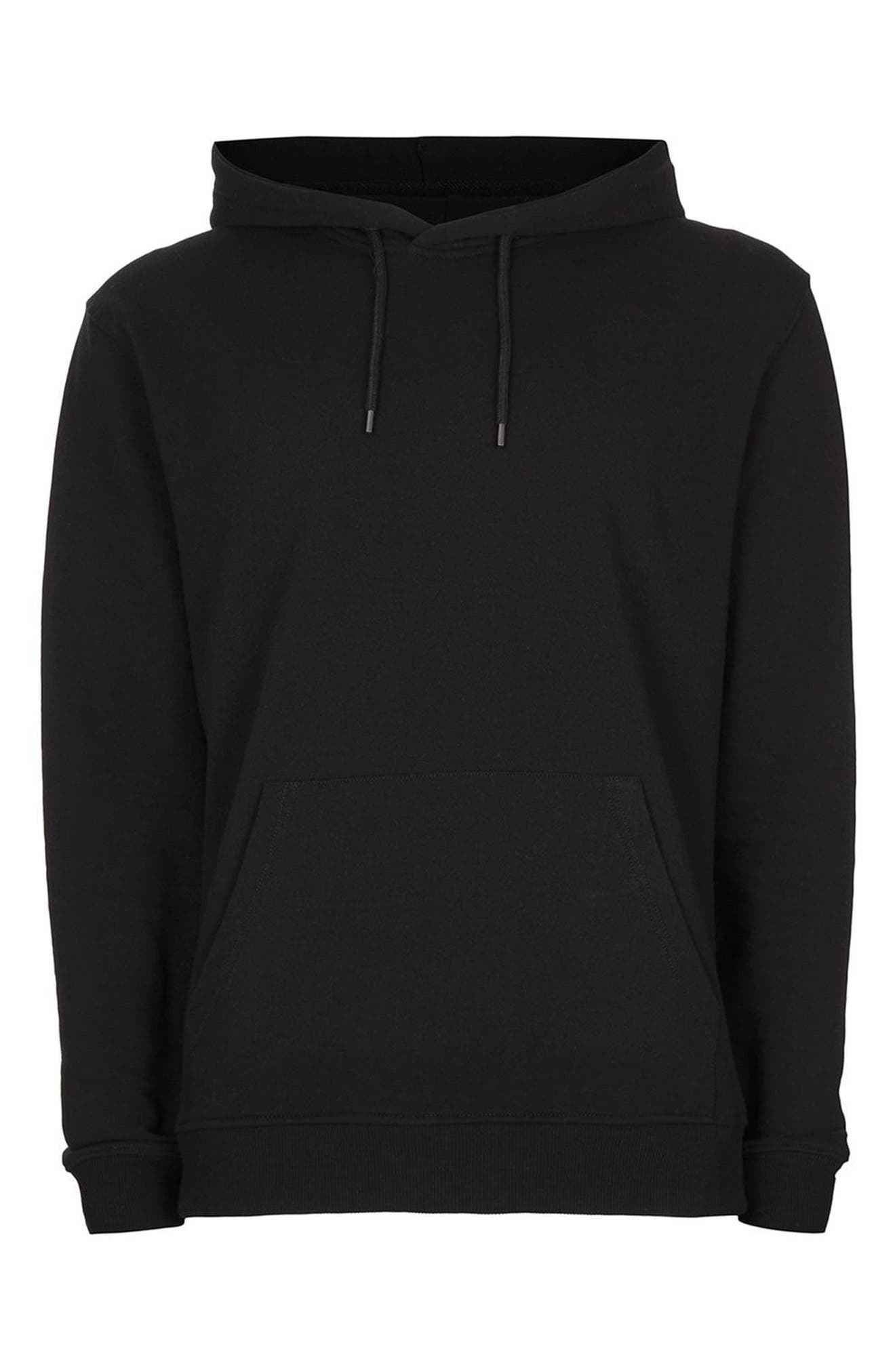 Classic Fit Hoodie,                             Alternate thumbnail 4, color,                             001