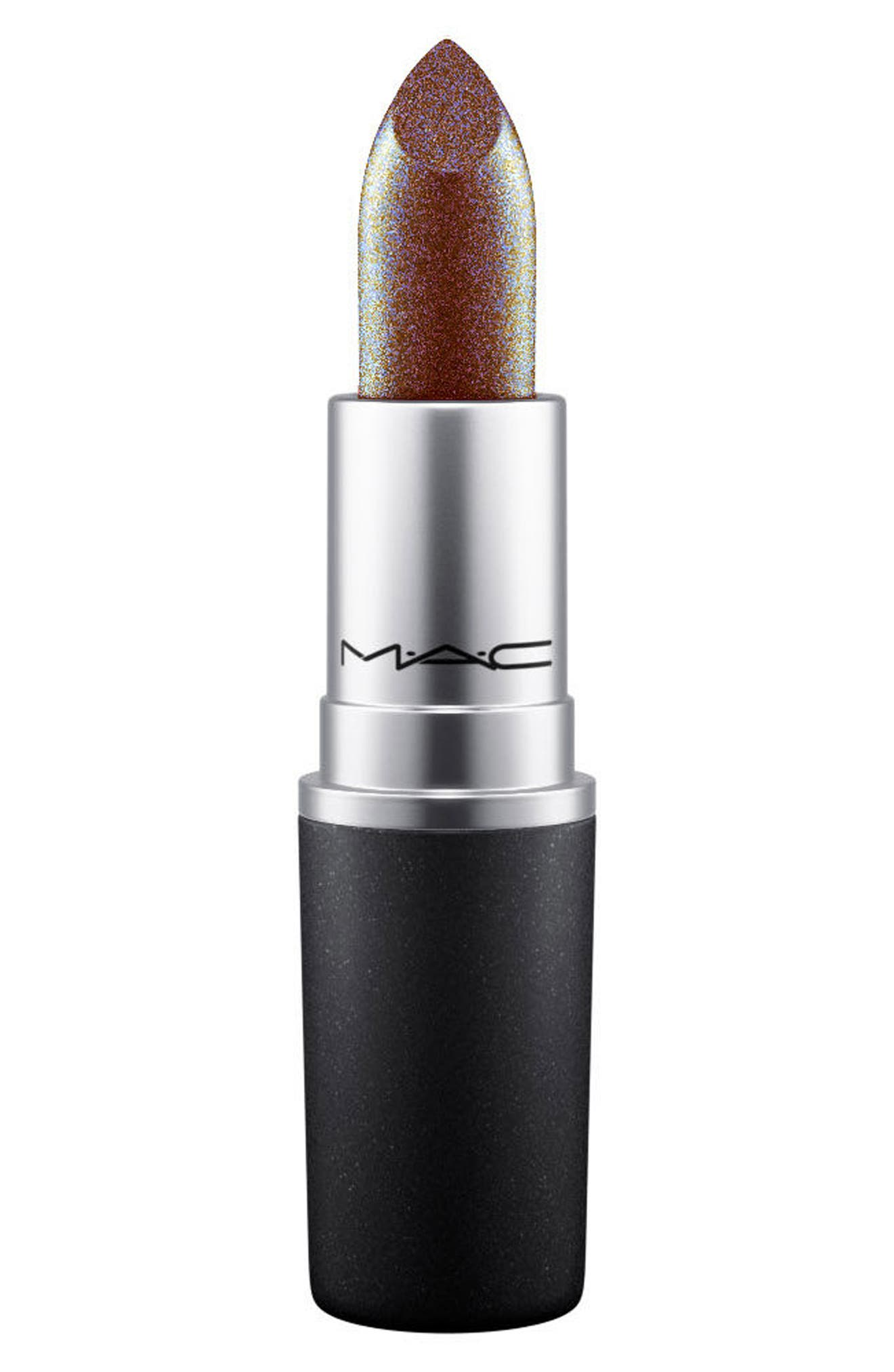 MAC Throwbacks Lipstick,                             Main thumbnail 1, color,                             SPANISH FLY