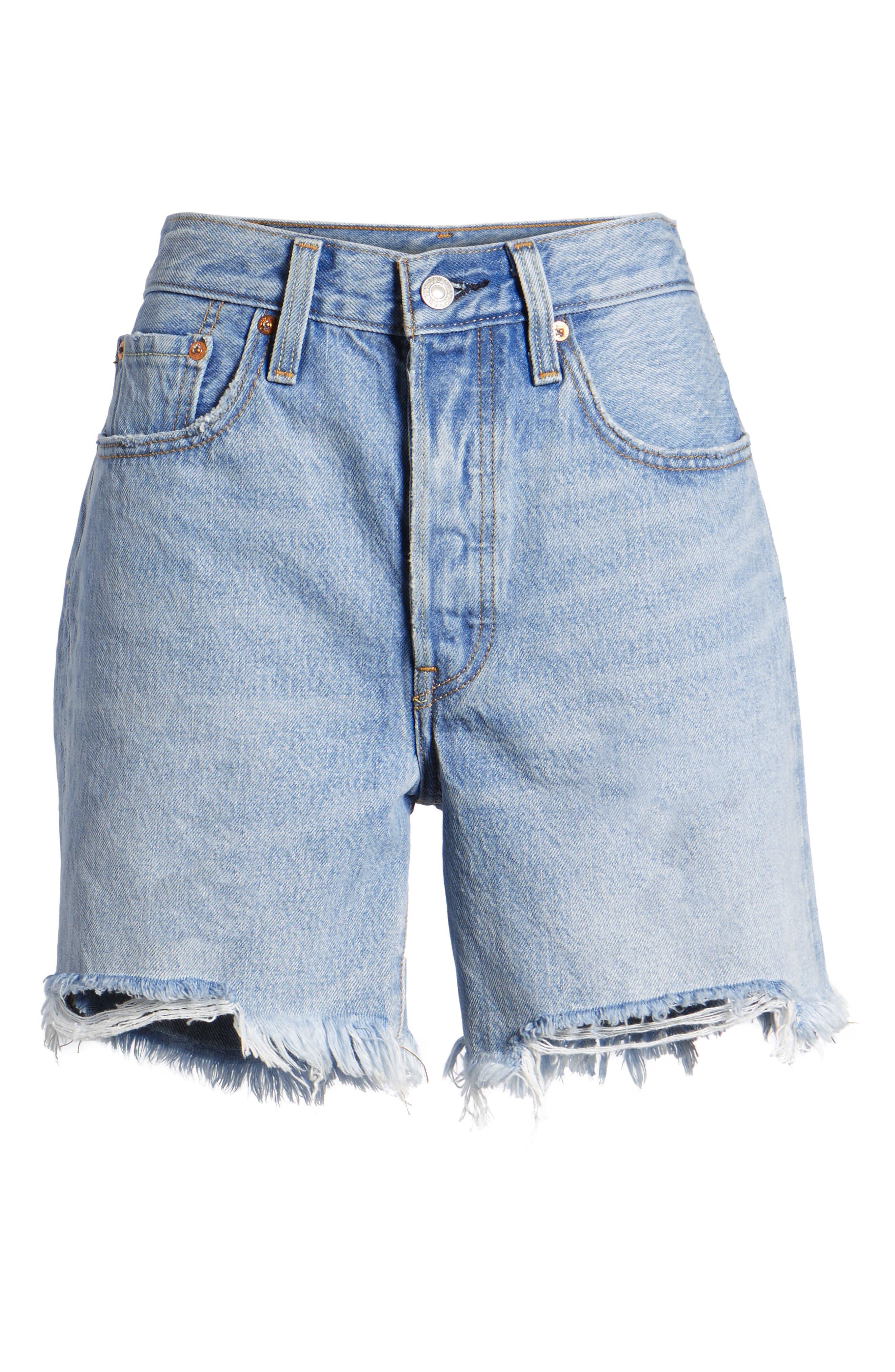 Indie Shredded Shorts,                             Alternate thumbnail 6, color,                             420