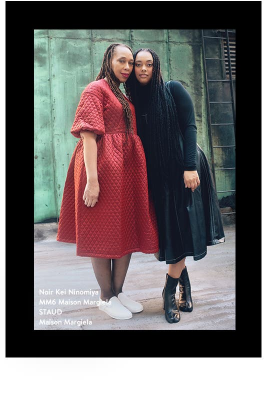 Latanya Lockett and Mia Marin.