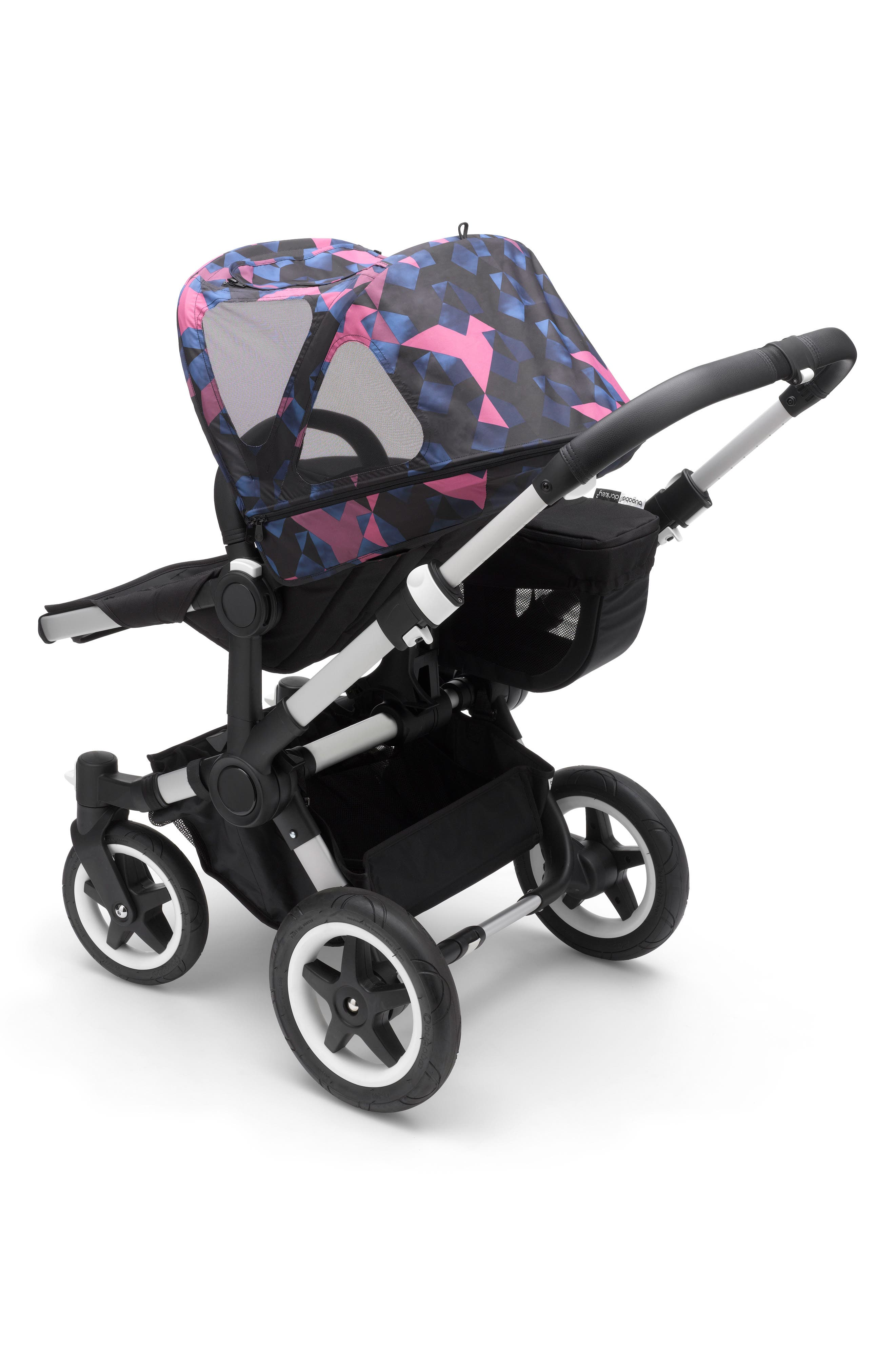 Breezy Birds Sun Canopy for Bugaboo Donkey Strollers,                             Alternate thumbnail 2, color,                             BIRDS PRINT