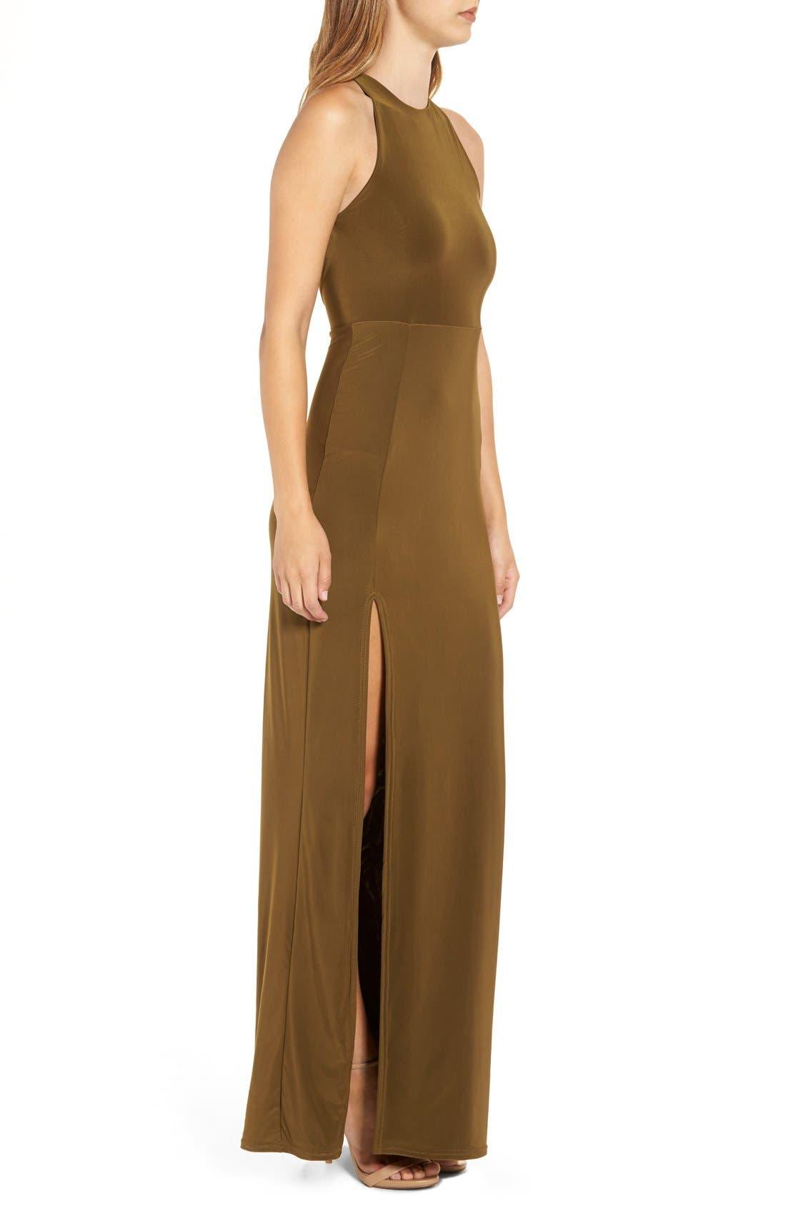 Strappy Back Maxi Dress,                             Alternate thumbnail 5, color,                             291