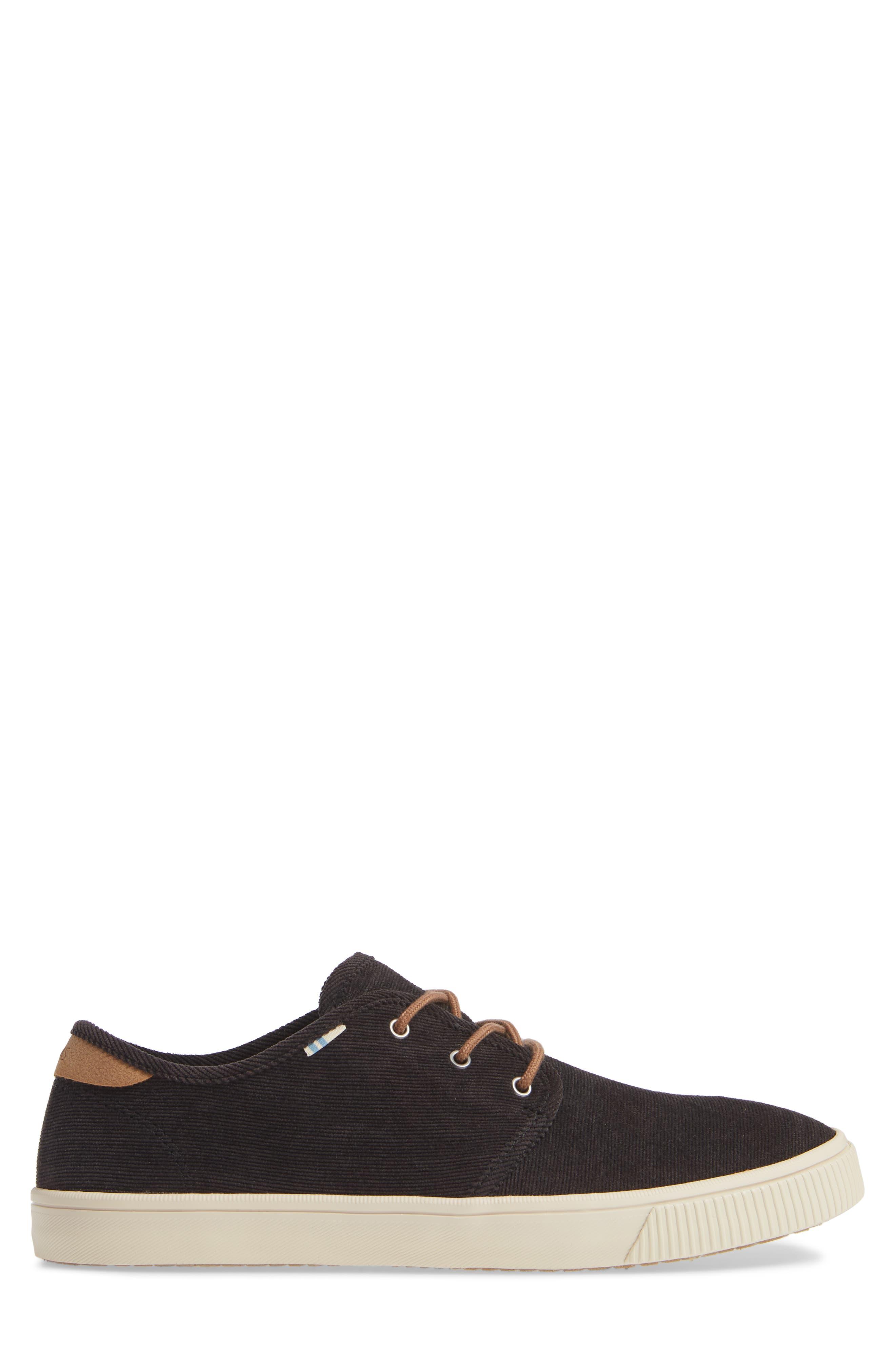 Carlo Sneaker,                             Alternate thumbnail 3, color,                             BLACK