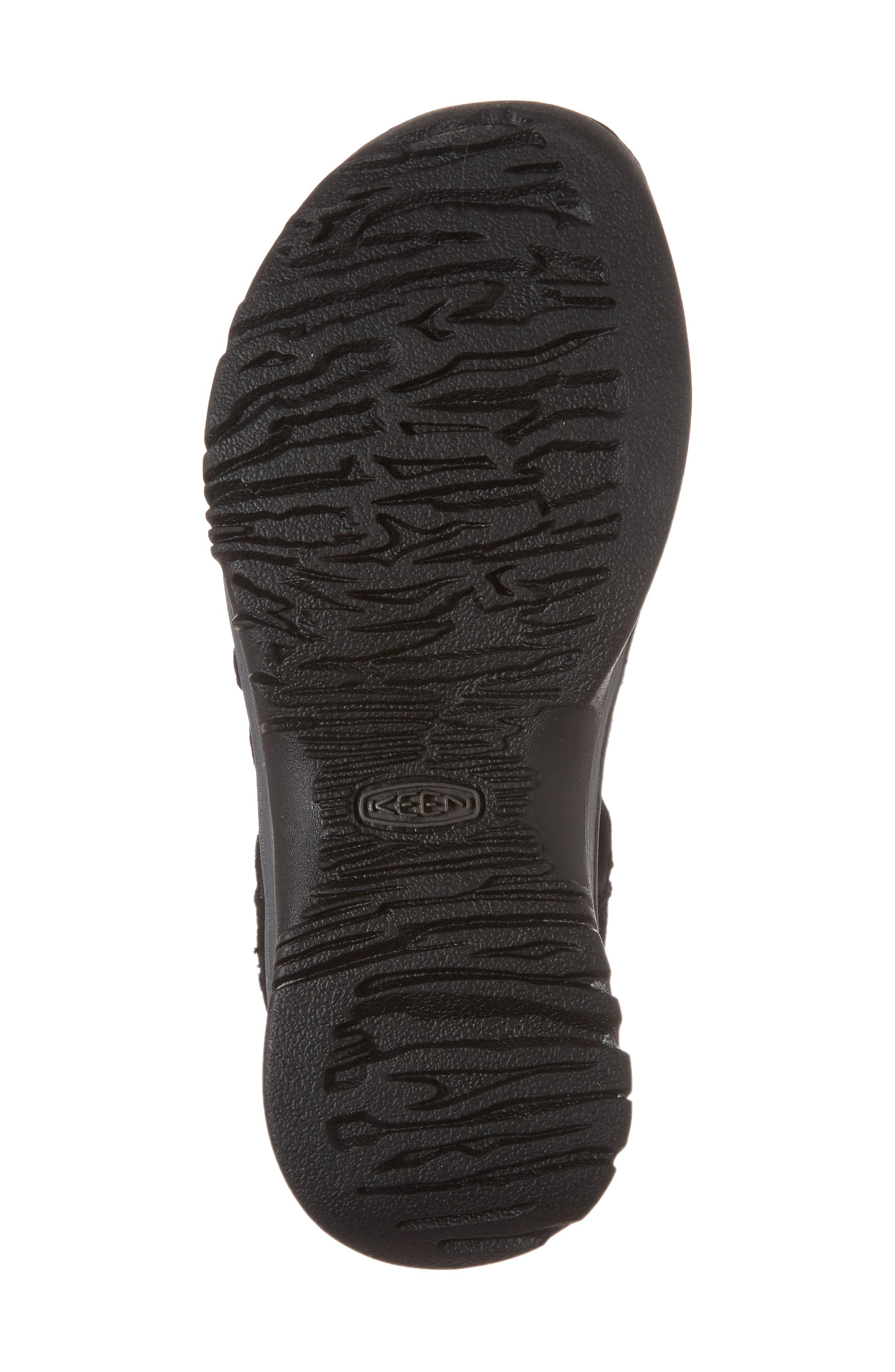 'Whisper' Water Friendly Sport Sandal,                             Alternate thumbnail 6, color,                             BLACK/ MAGNET