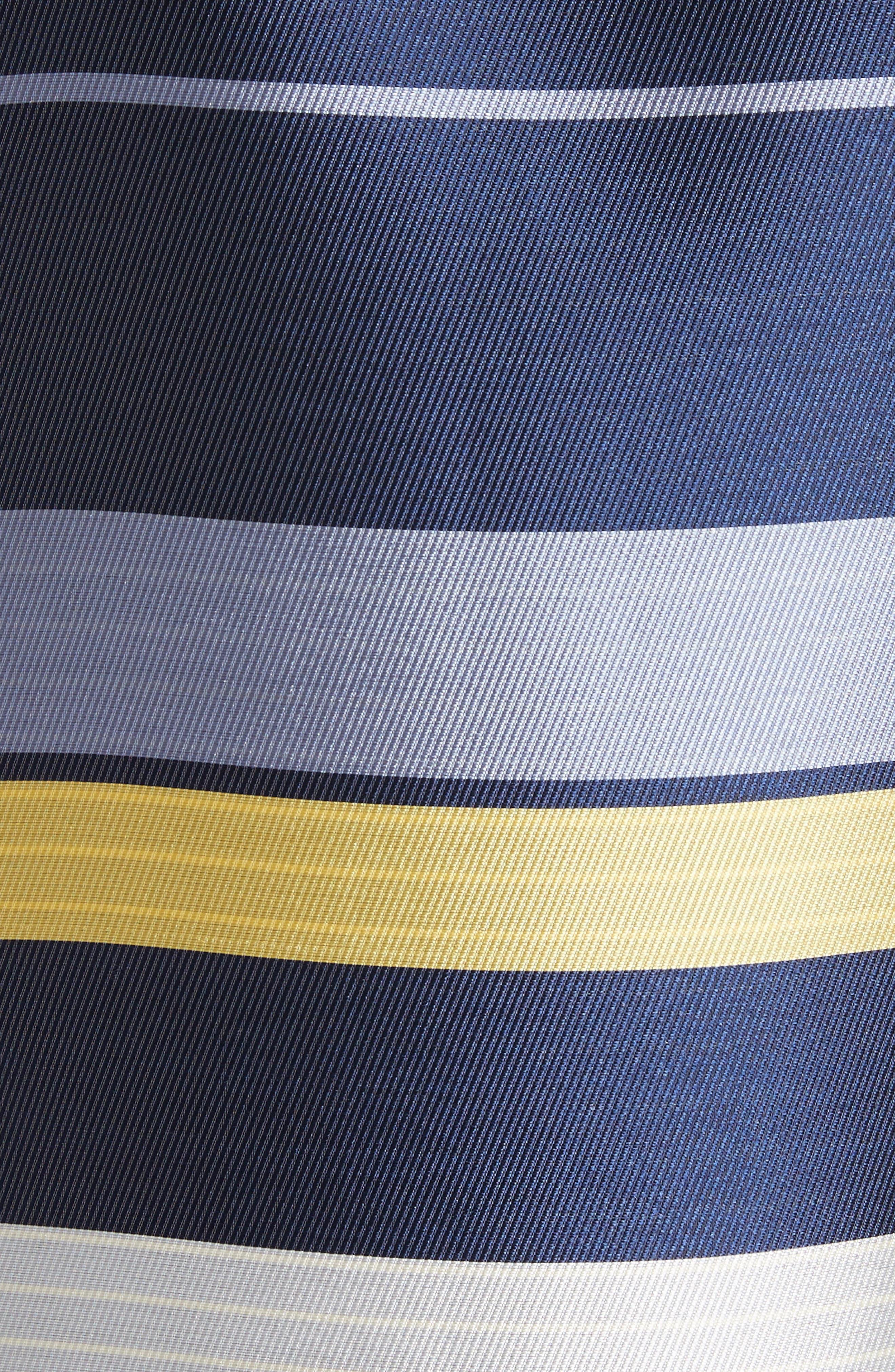 Double Face Stripe Twill Jacket,                             Alternate thumbnail 6, color,                             420