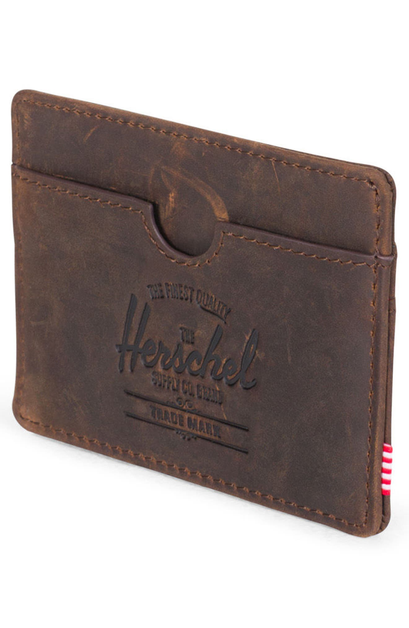 Charlie Leather Card Case,                             Alternate thumbnail 15, color,