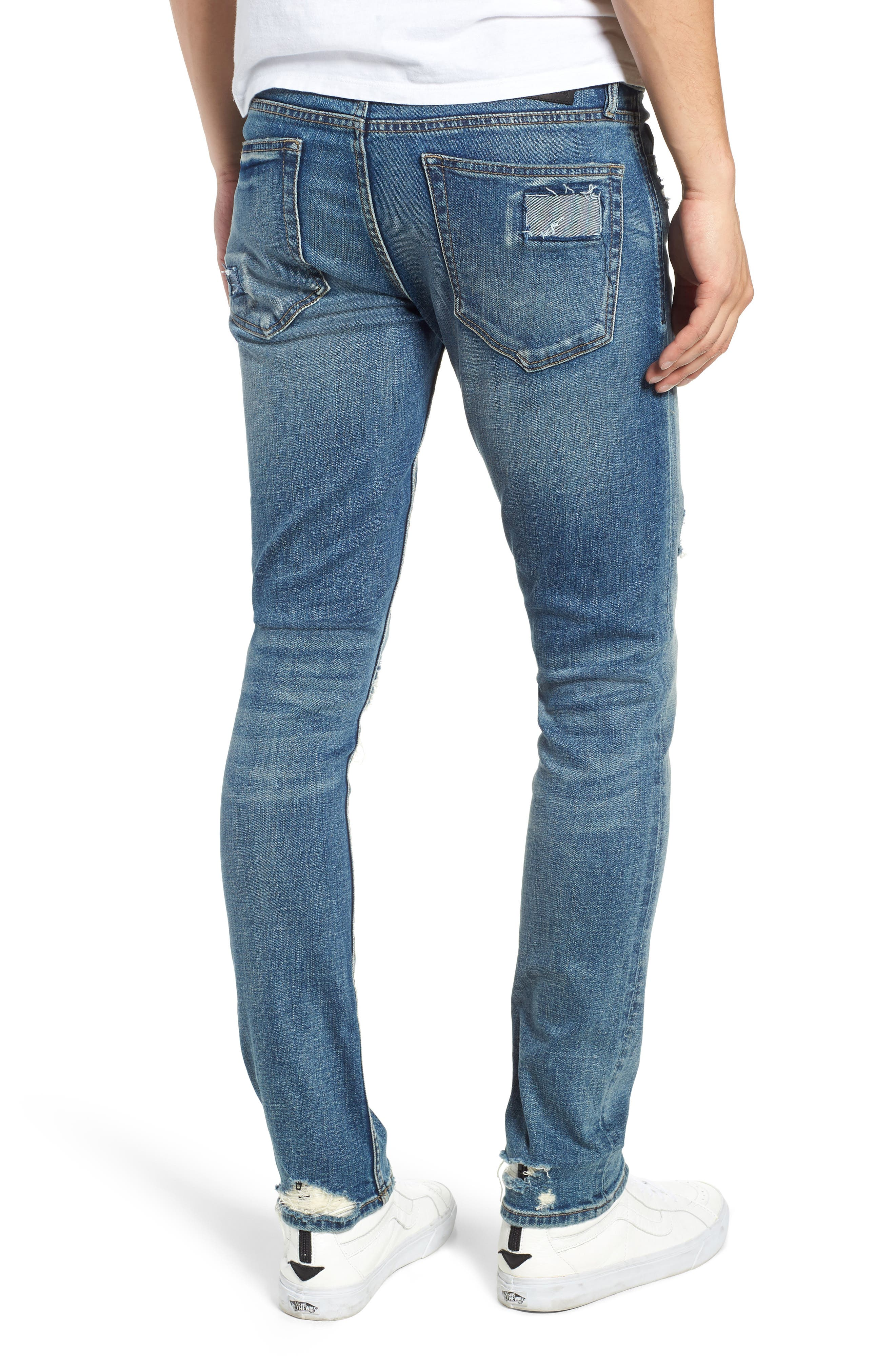 Horatio Skinny Fit Jeans,                             Alternate thumbnail 2, color,                             SUDDEN PROFIT
