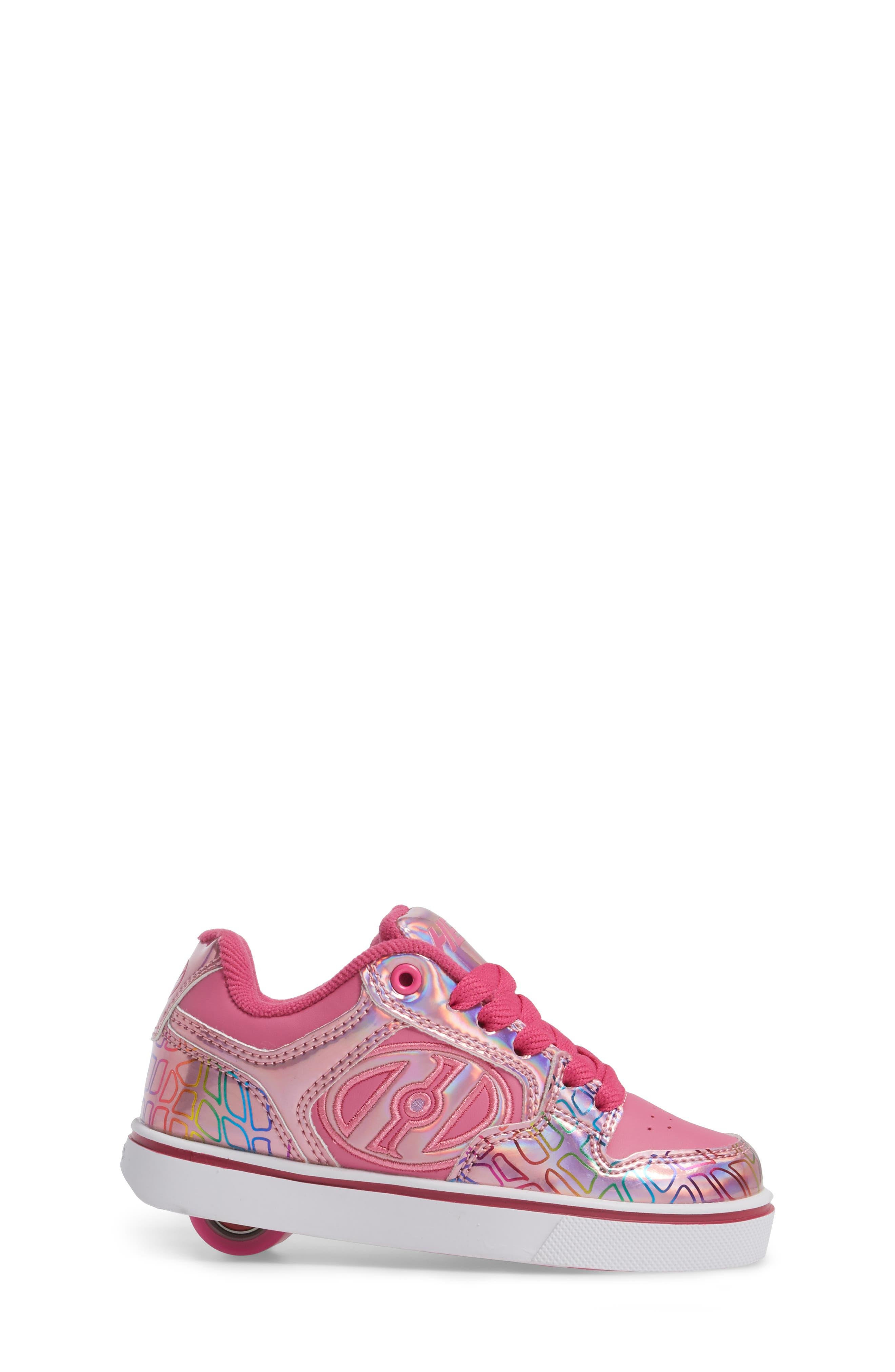 Motion Plus Skate Sneaker,                             Alternate thumbnail 3, color,                             PINK/ LIGHT PINK