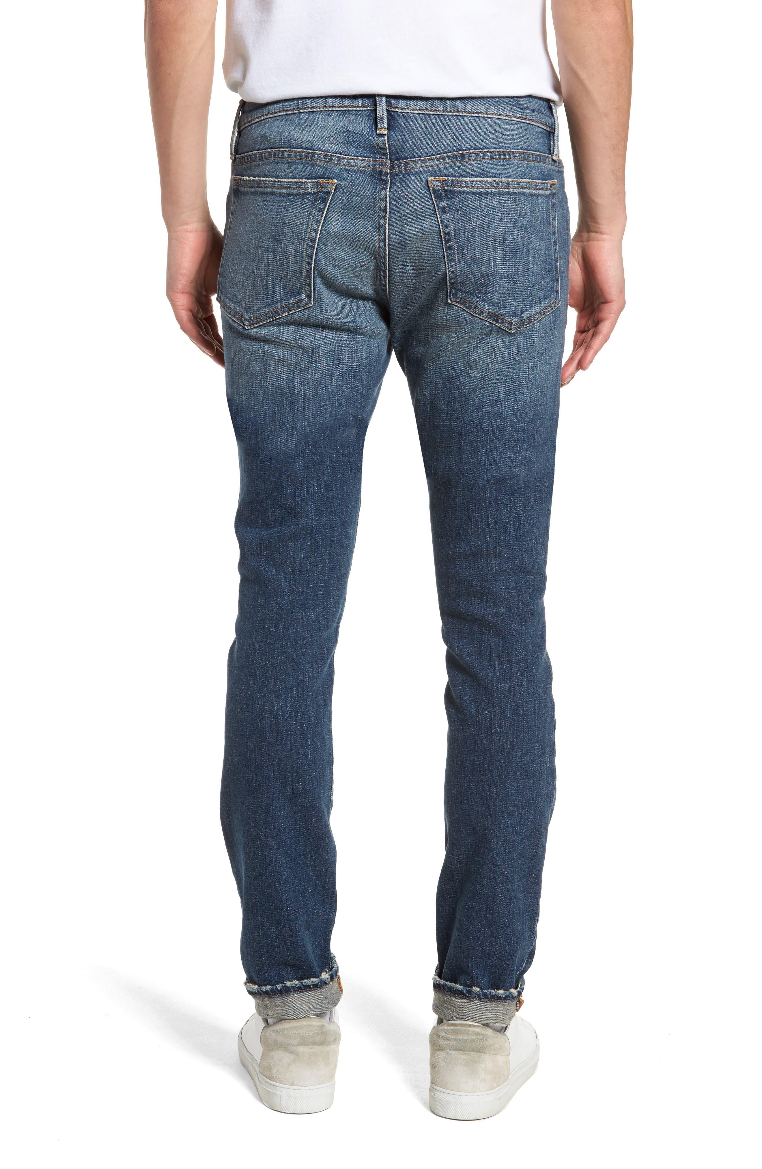 L'Homme Skinny Fit Jeans,                             Alternate thumbnail 2, color,                             405