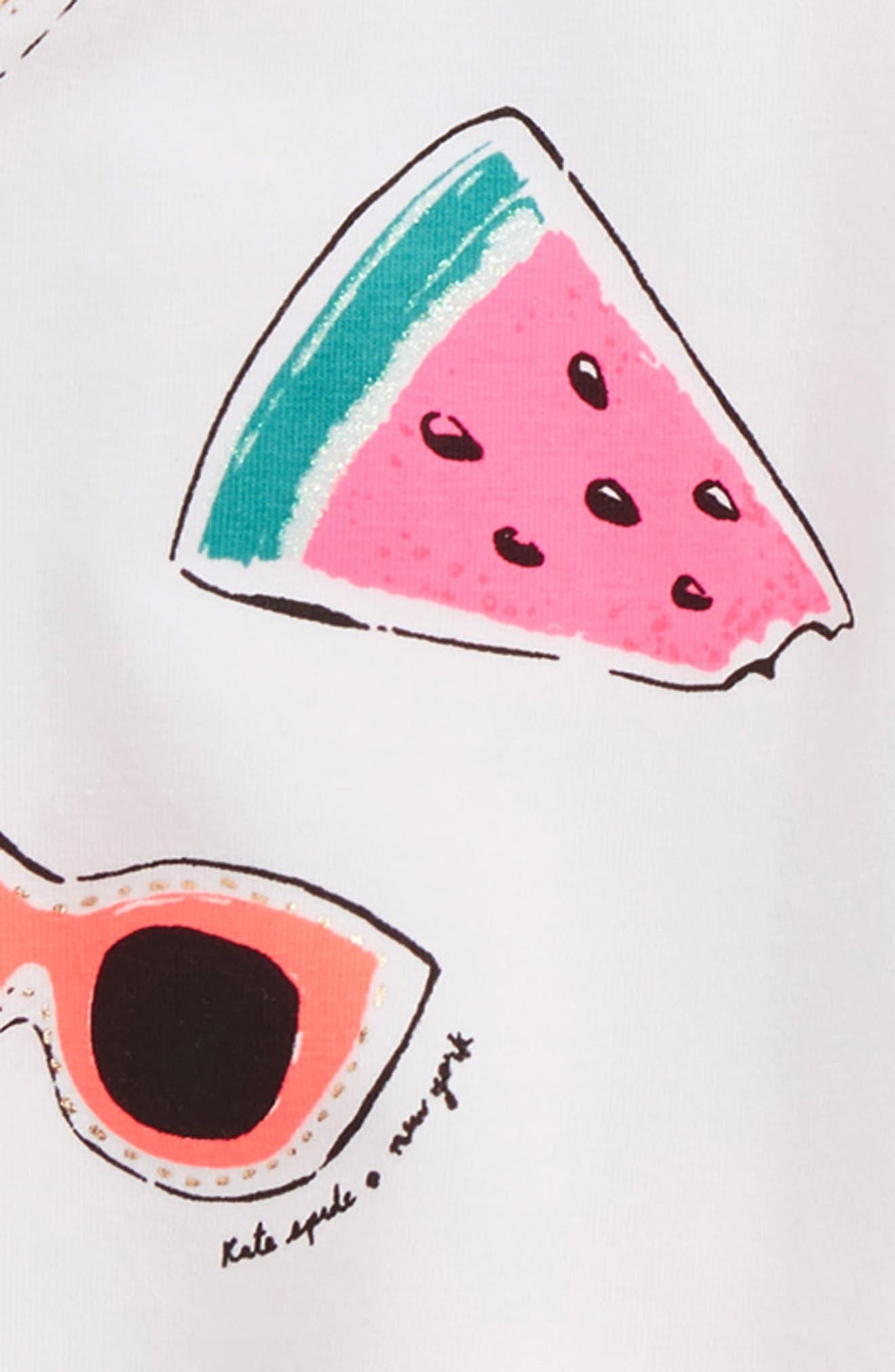 so cool cold shoulder tee & skirt set,                             Alternate thumbnail 2, color,                             100