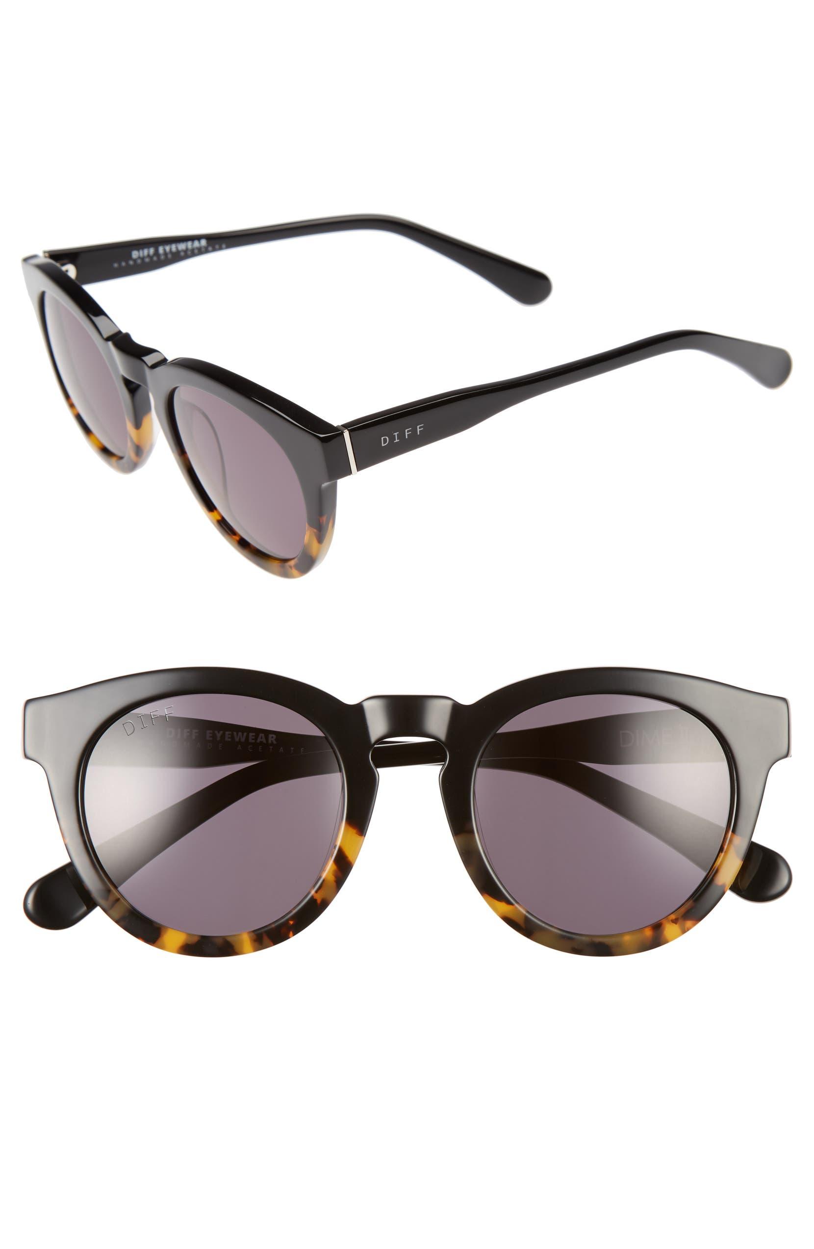 3bb292abecc DIFF Dime II 48mm Retro Sunglasses