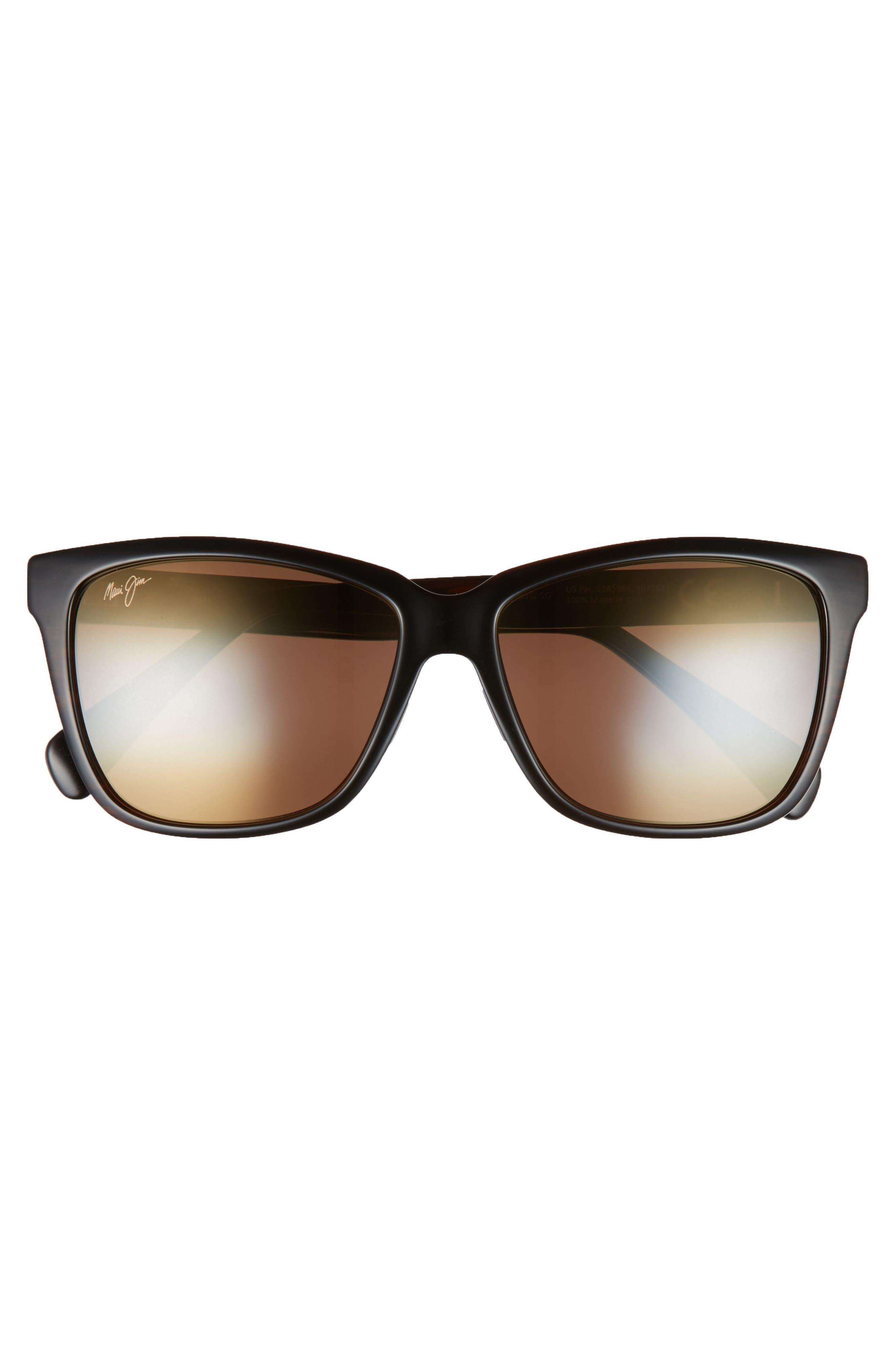 56mm Jacaranda Polarized Sunglasses,                             Alternate thumbnail 11, color,