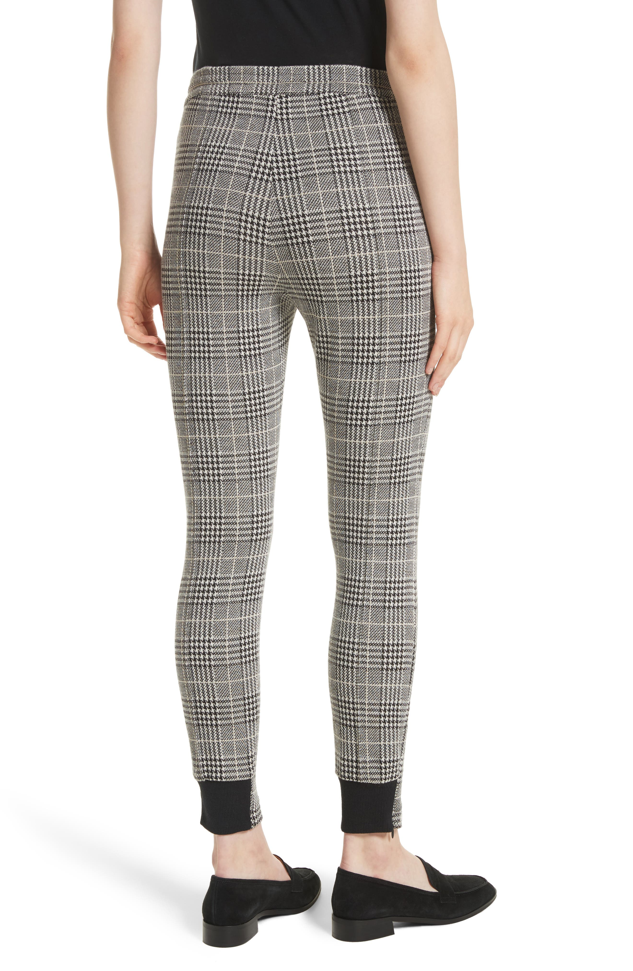 Houndstooth Ankle Skinny Pants,                             Alternate thumbnail 2, color,