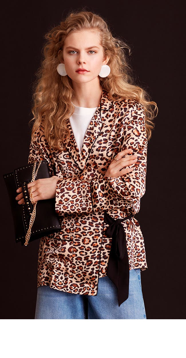 Wild style: Topshop animal prints.