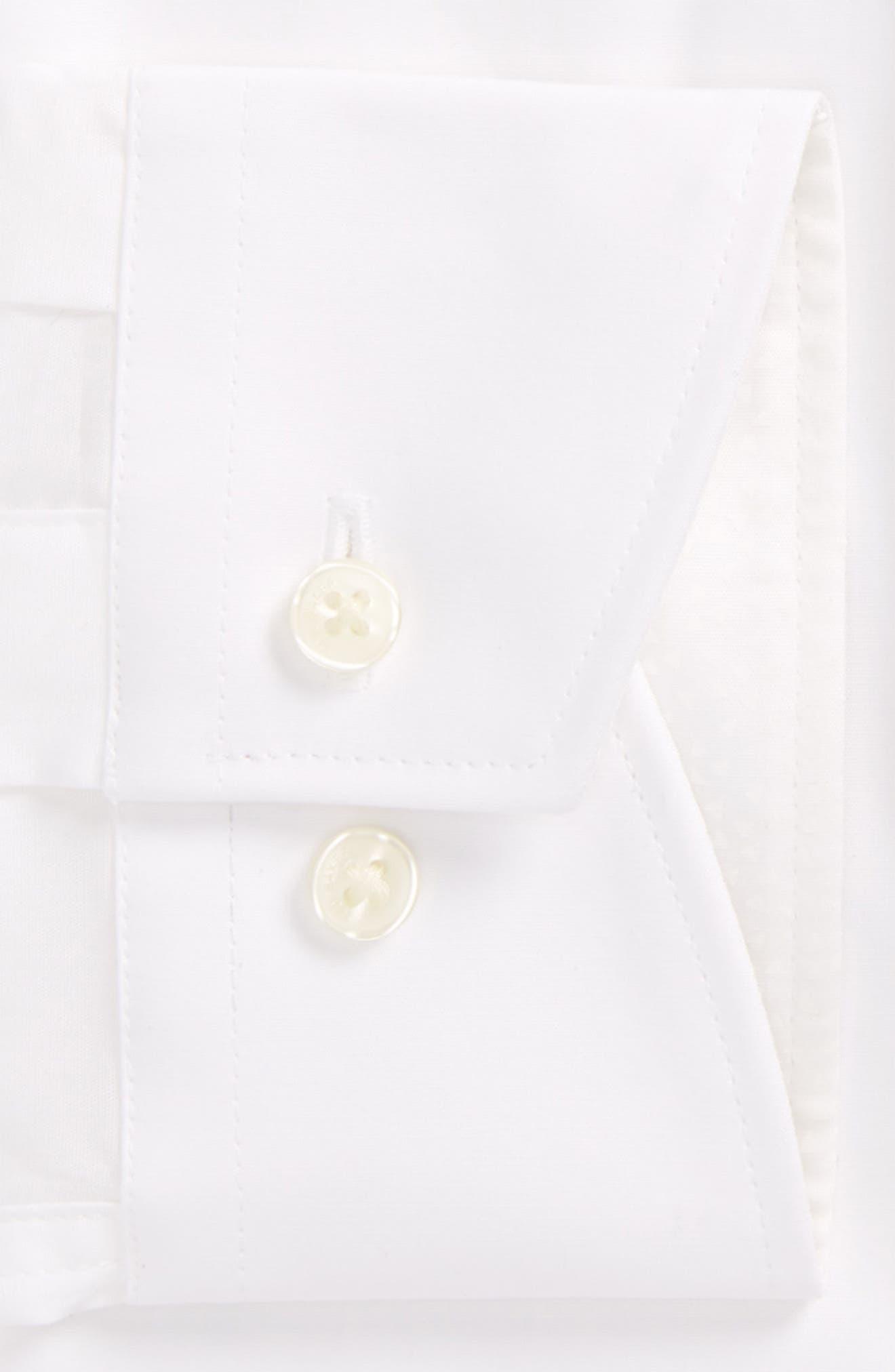 Booker Slim Fit Dress Shirt,                             Alternate thumbnail 3, color,                             110