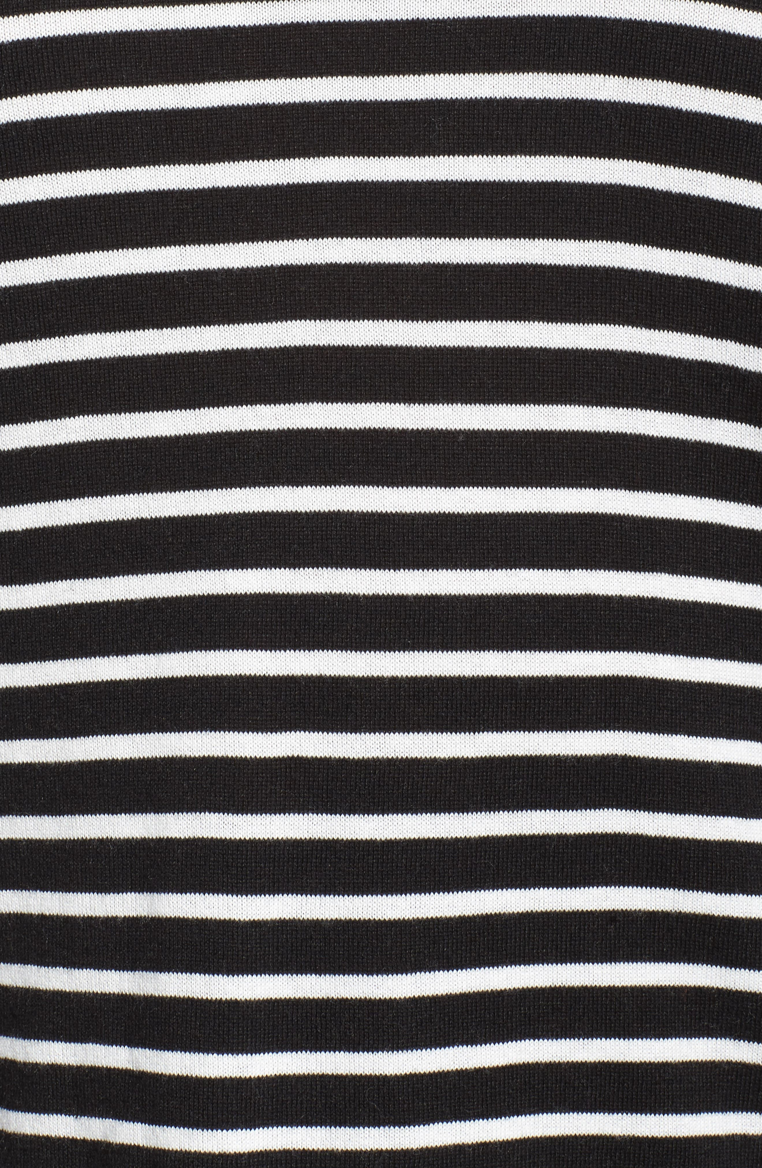 Dolman Sleeve Crewneck Sweater,                             Alternate thumbnail 5, color,                             002