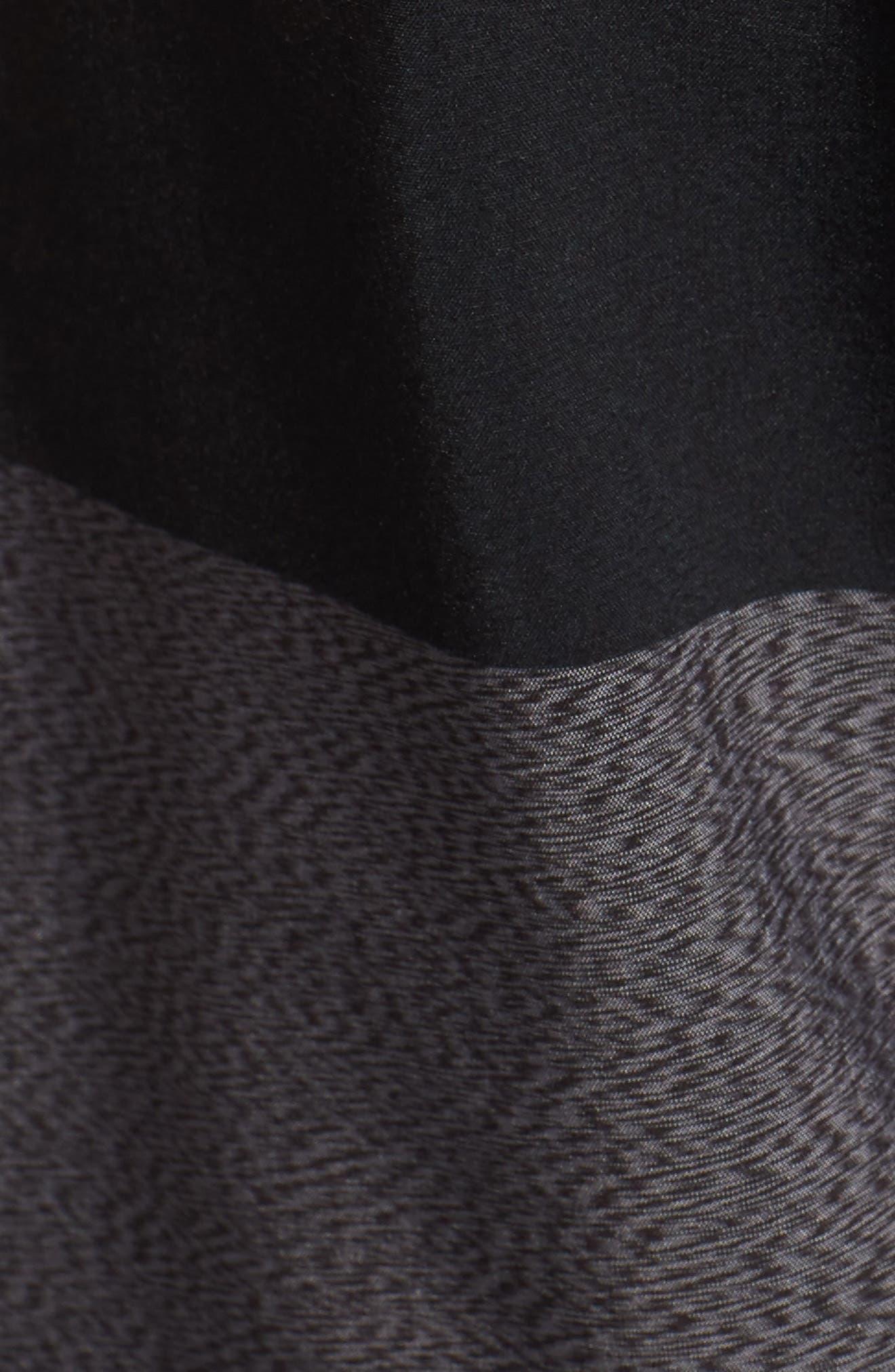 Quarter Static Stoney Board Shorts,                             Alternate thumbnail 5, color,                             BLACK