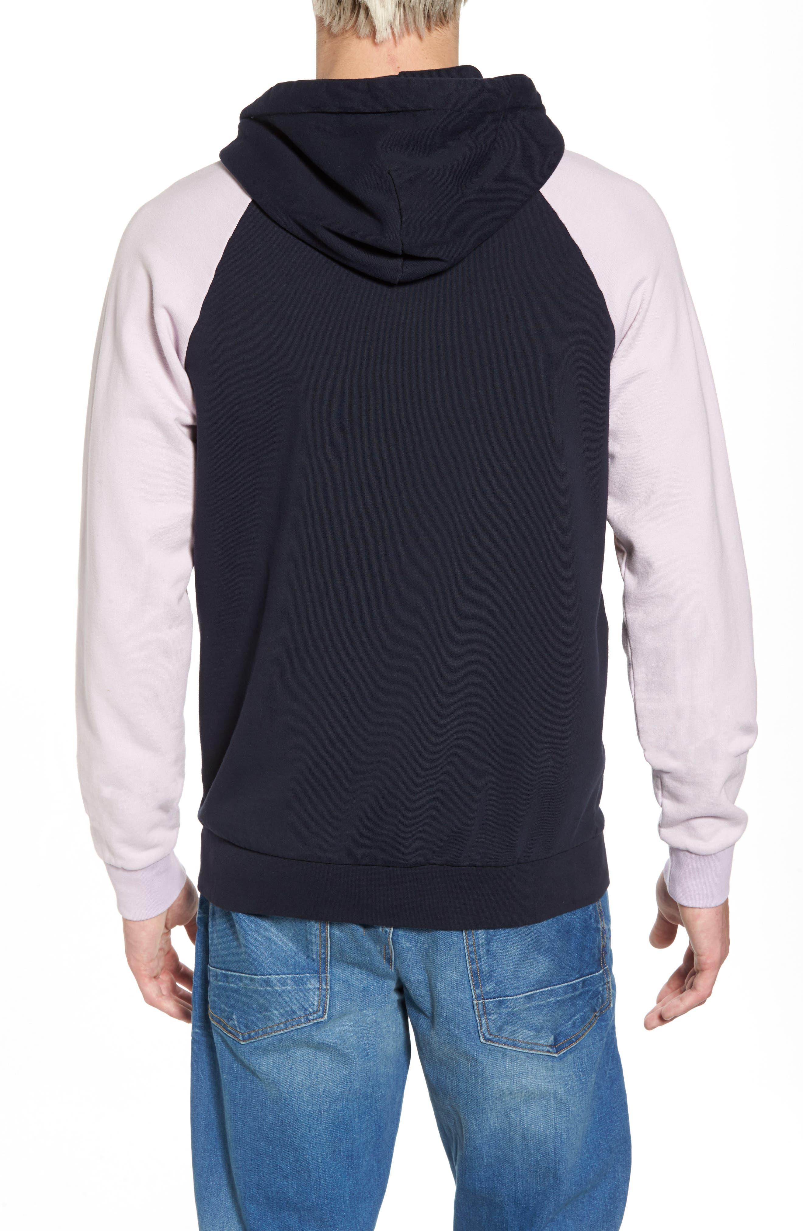 Summer Colorblock Hoodie Sweatshirt,                             Alternate thumbnail 2, color,                             100