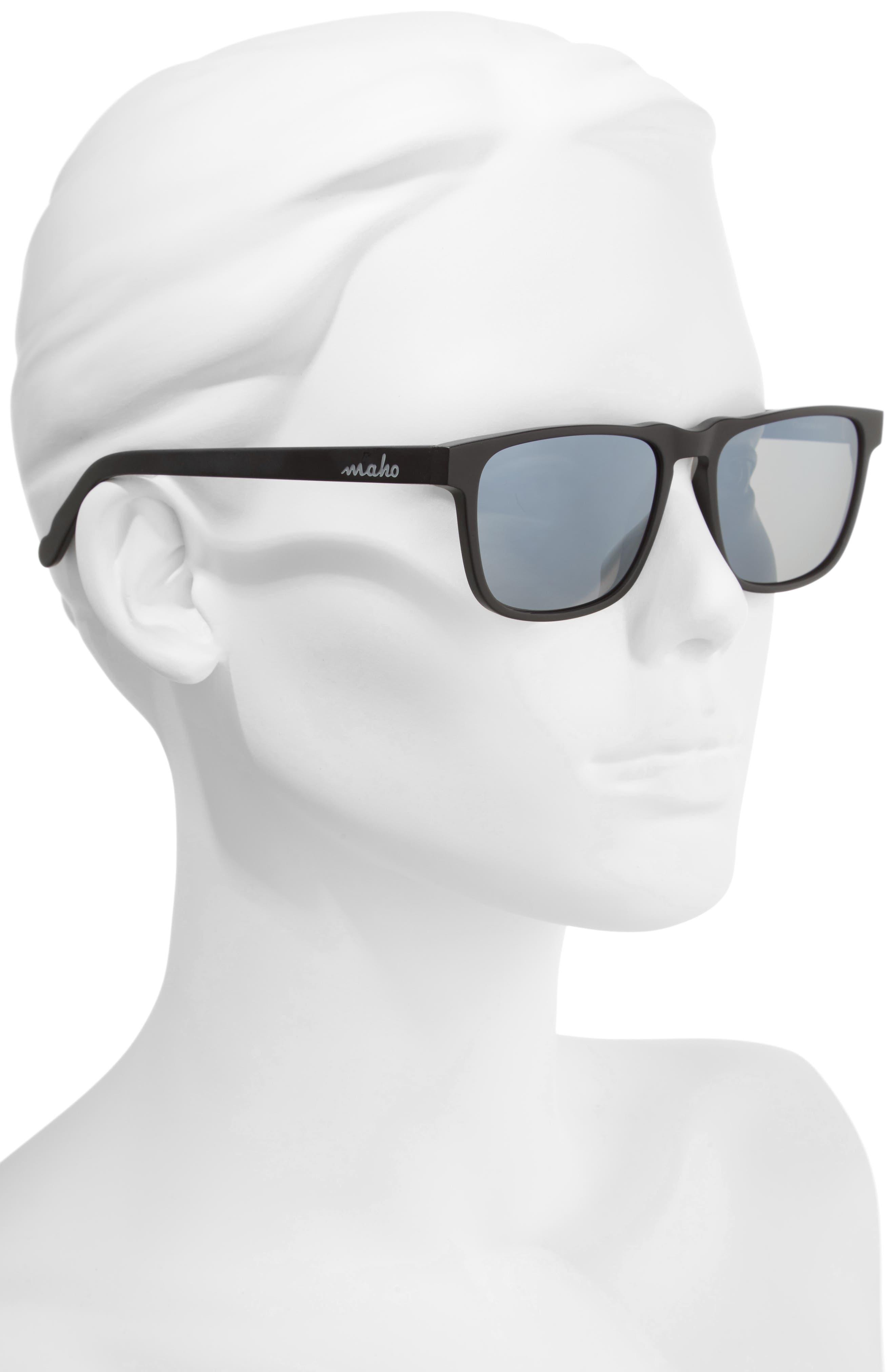 Chandeleur 59mm Polarized Aviator Sunglasses,                             Alternate thumbnail 2, color,                             020