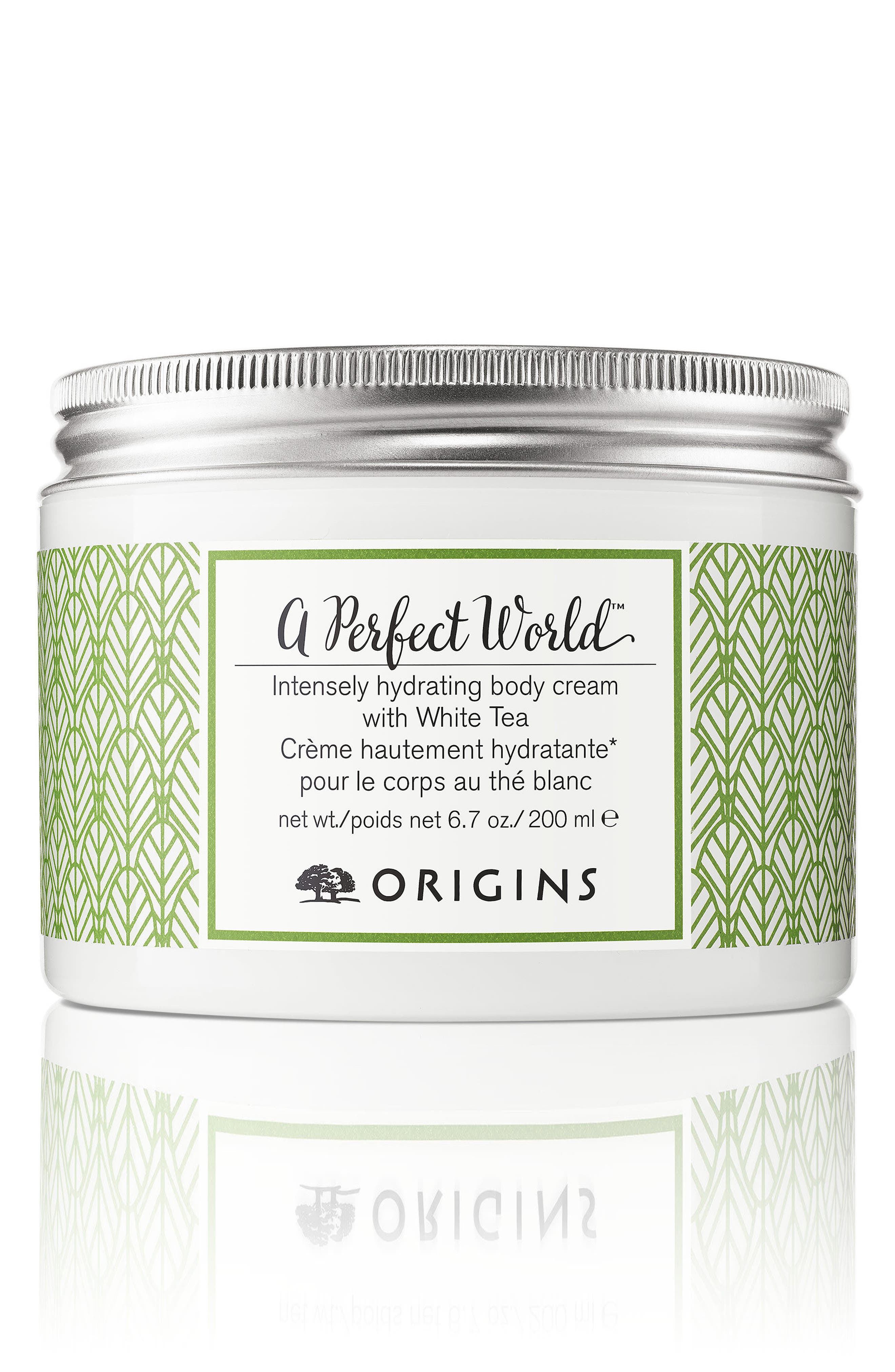 A Perfect World<sup>™</sup> Intensely Hydrating Body Cream with White Tea,                             Main thumbnail 1, color,                             000
