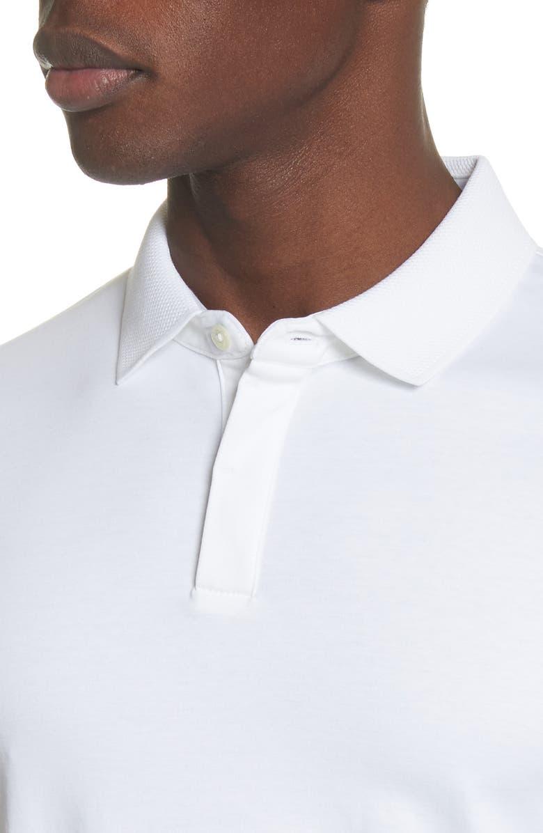 3e74129b7174 Polo Fit Emporio White Armani Slim In Solid Modesens qZwTpt