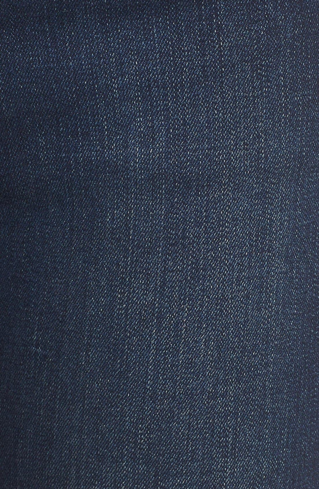 JAMES JEANS,                             'Shayebel' Flare Denim Trousers,                             Alternate thumbnail 5, color,                             401