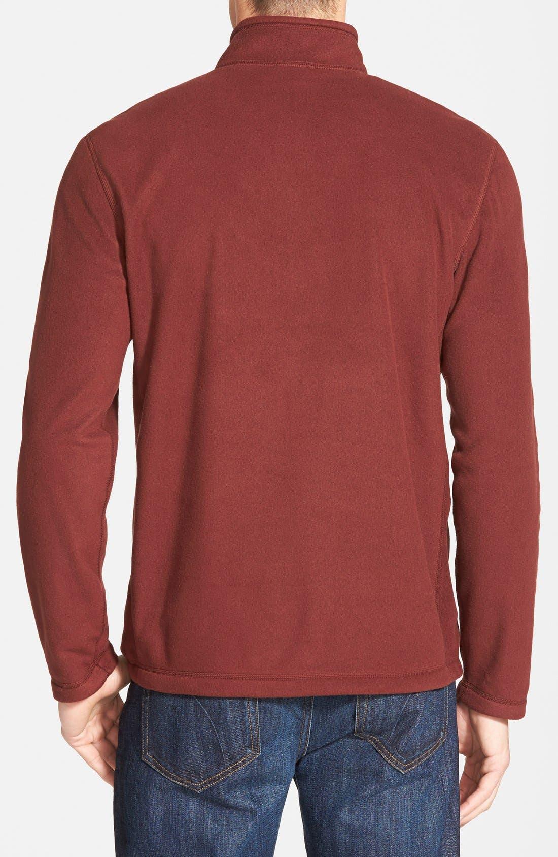 'TKA 100 Glacier' Quarter Zip Fleece Pullover,                             Alternate thumbnail 91, color,