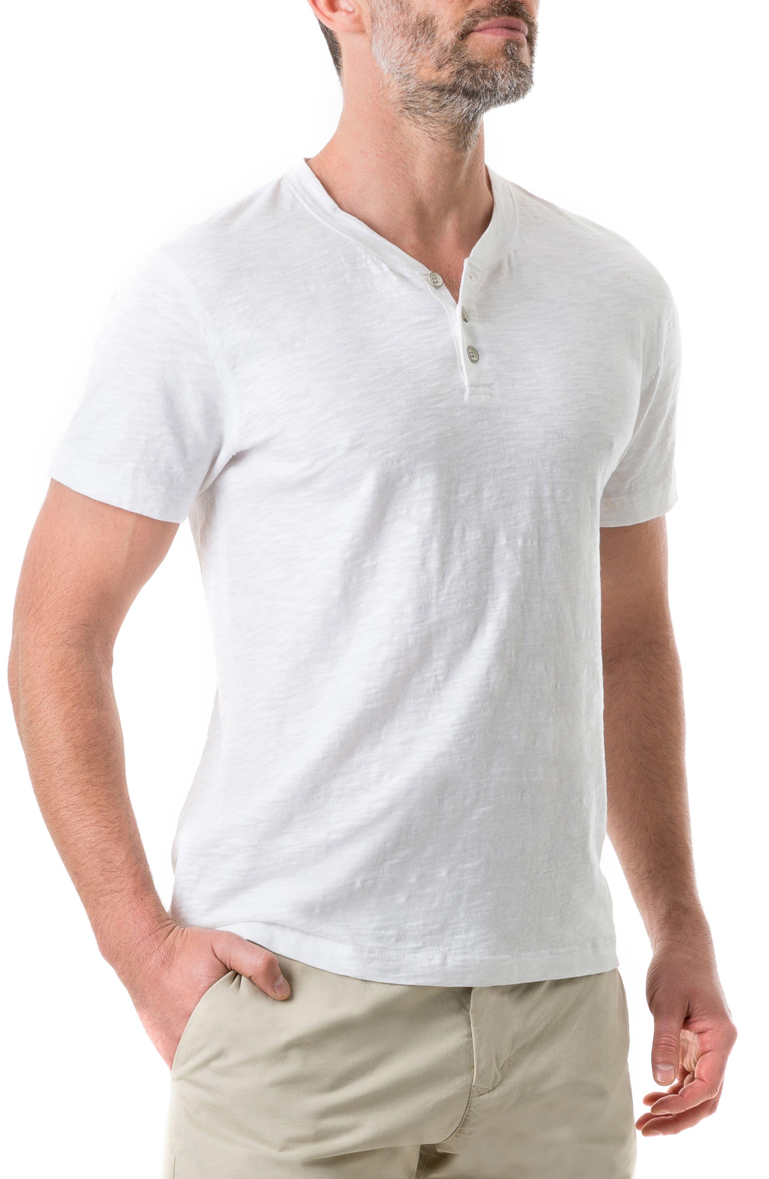 RODD & GUNN,                             Milton Henley T-Shirt,                             Alternate thumbnail 3, color,                             NATURAL