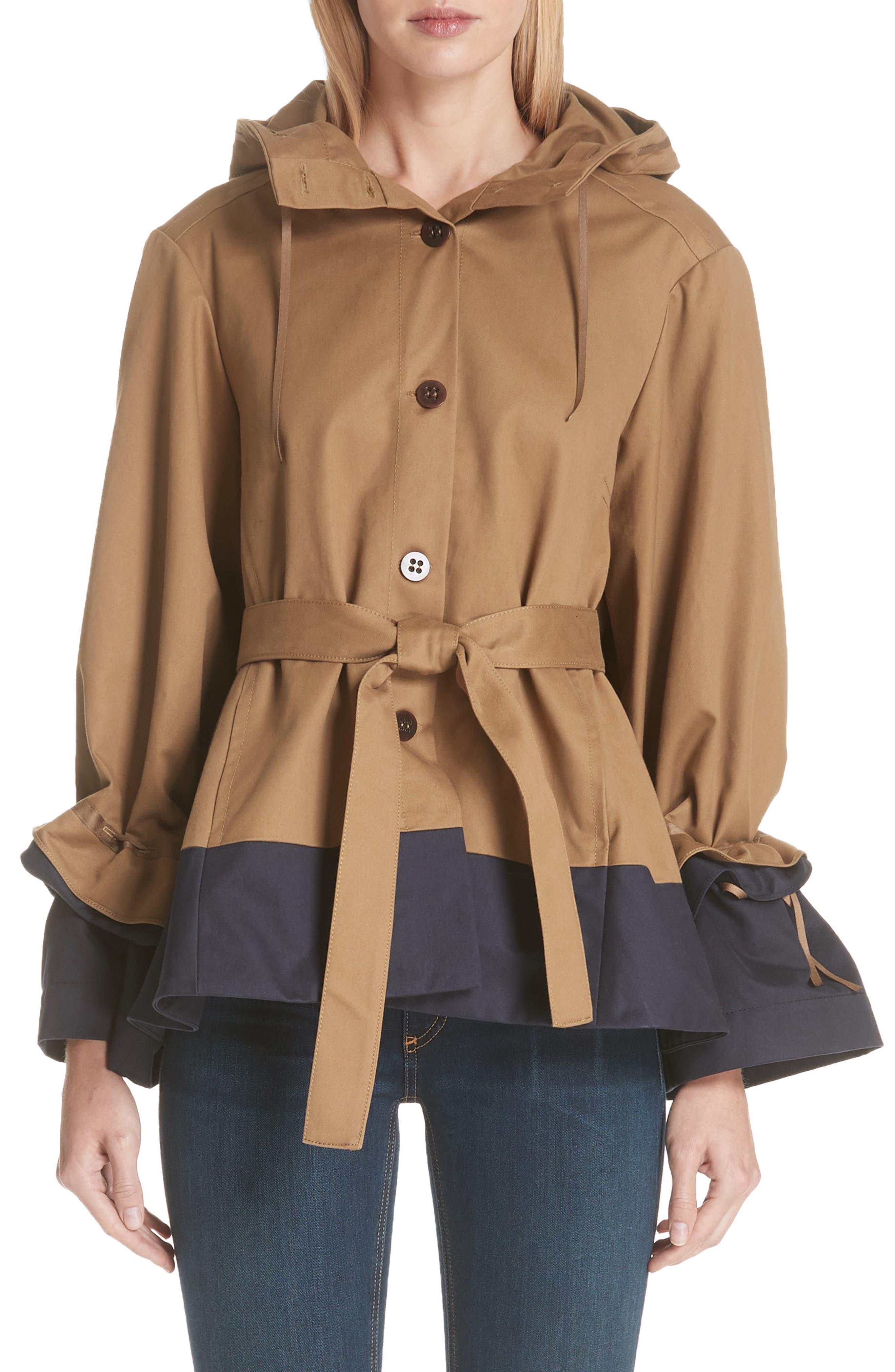 Shadow Swing Jacket,                         Main,                         color, KHAKI TENNYSON