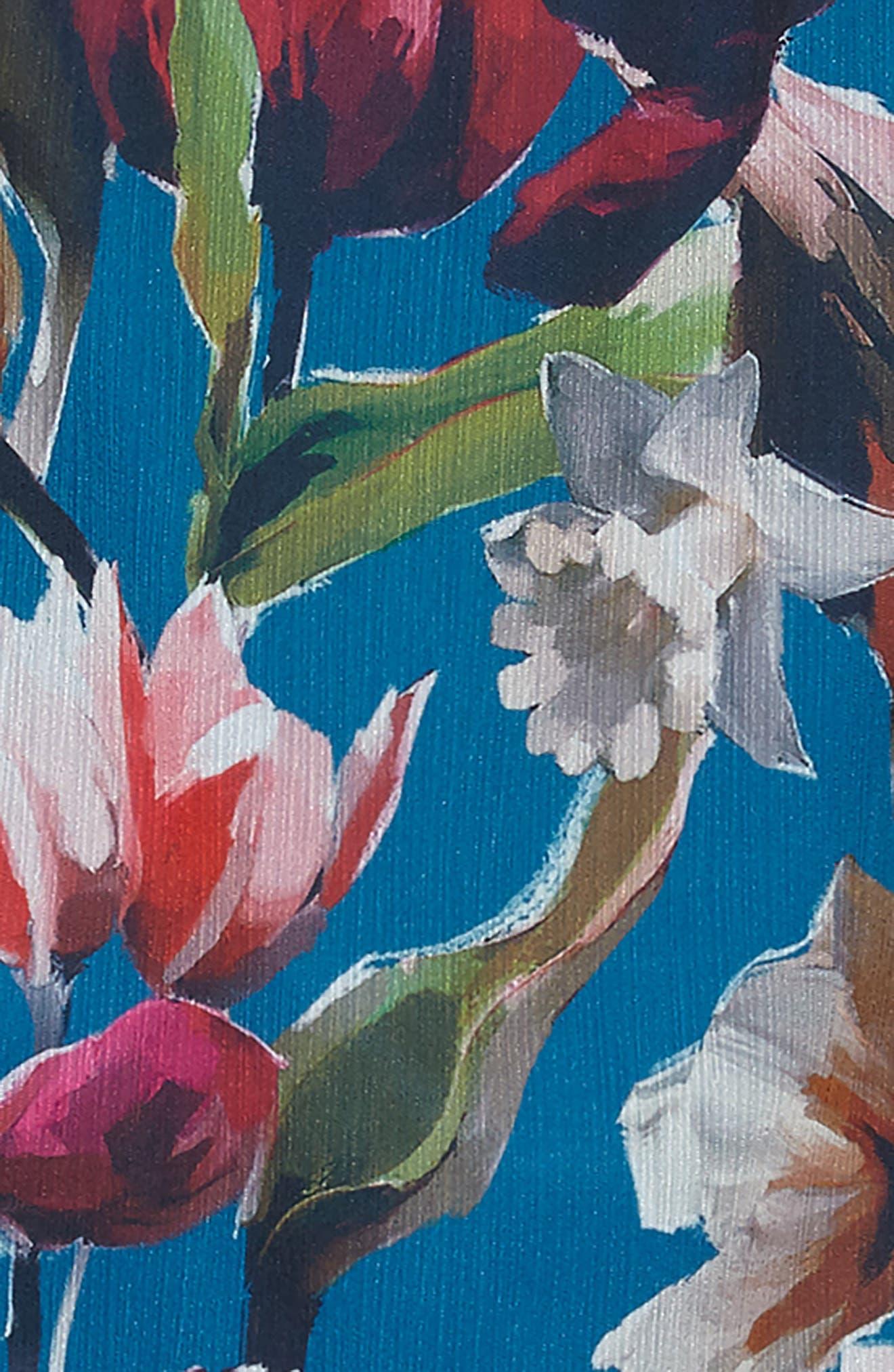 Josephine Two-Piece Ruffle Dress,                             Alternate thumbnail 3, color,                             400