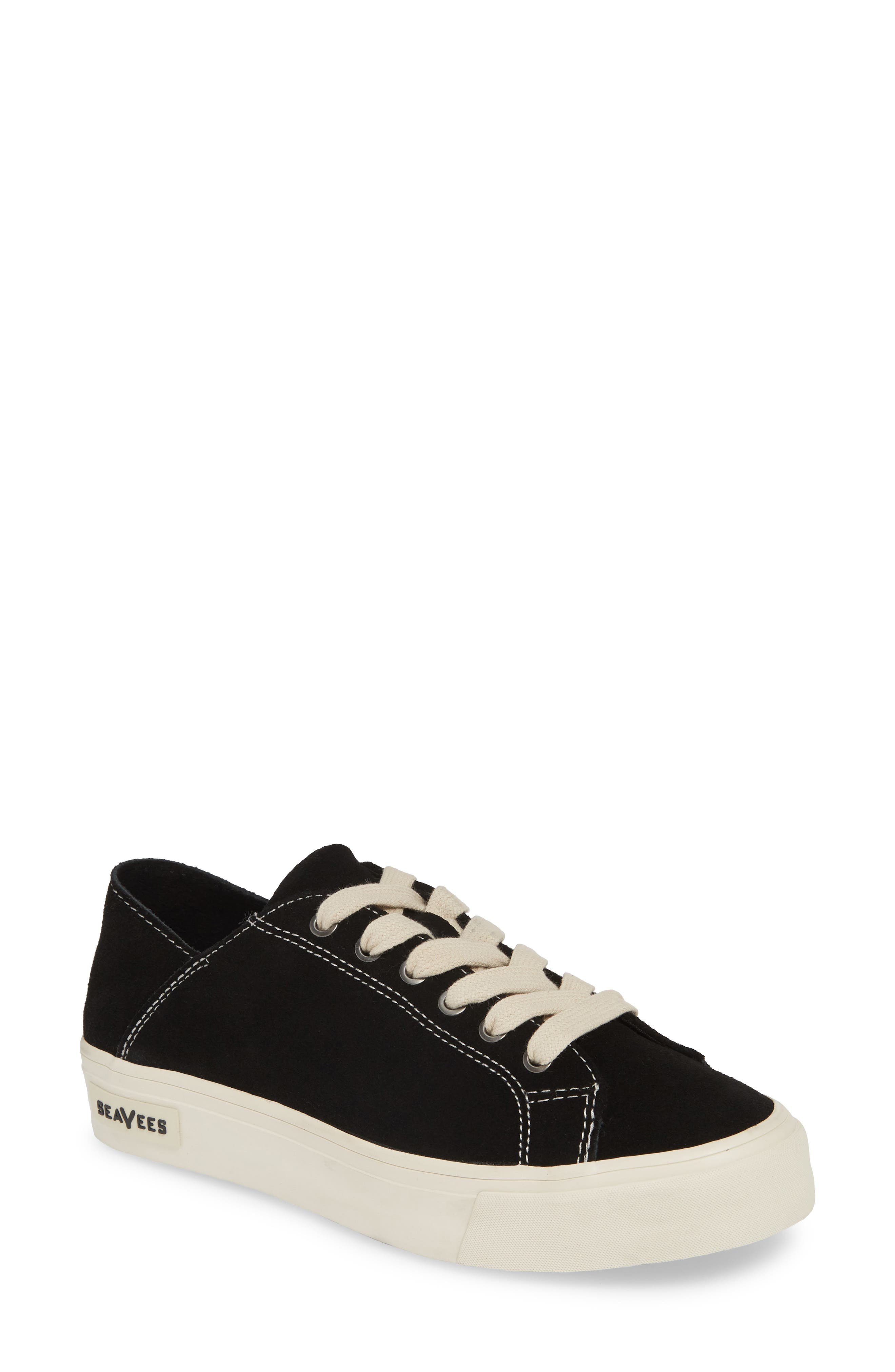 SEAVEES Sausalito Sneaker, Main, color, BLACK/ BLACK