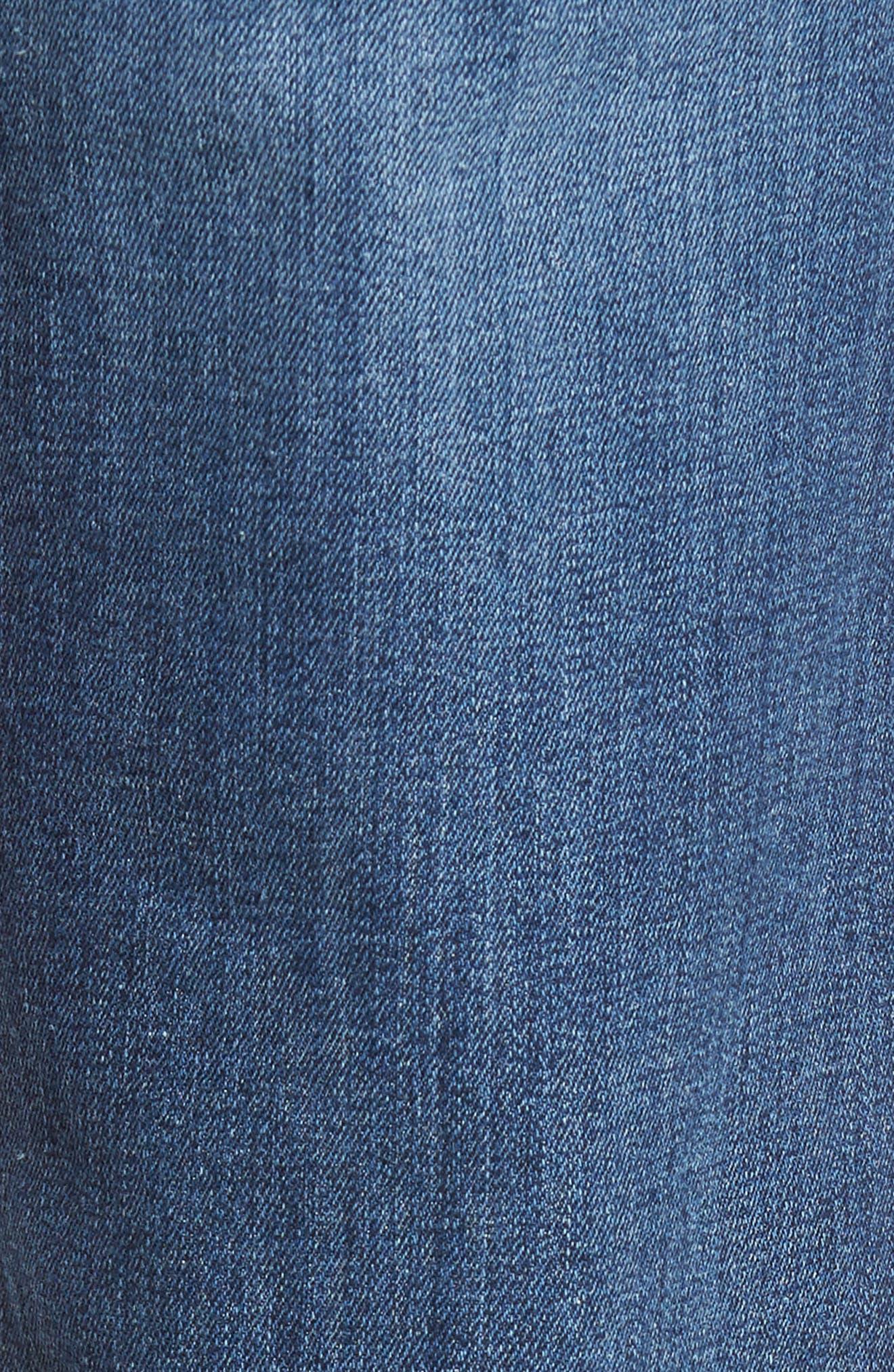 Brixton Slim Straight Leg Jeans,                             Alternate thumbnail 5, color,                             410