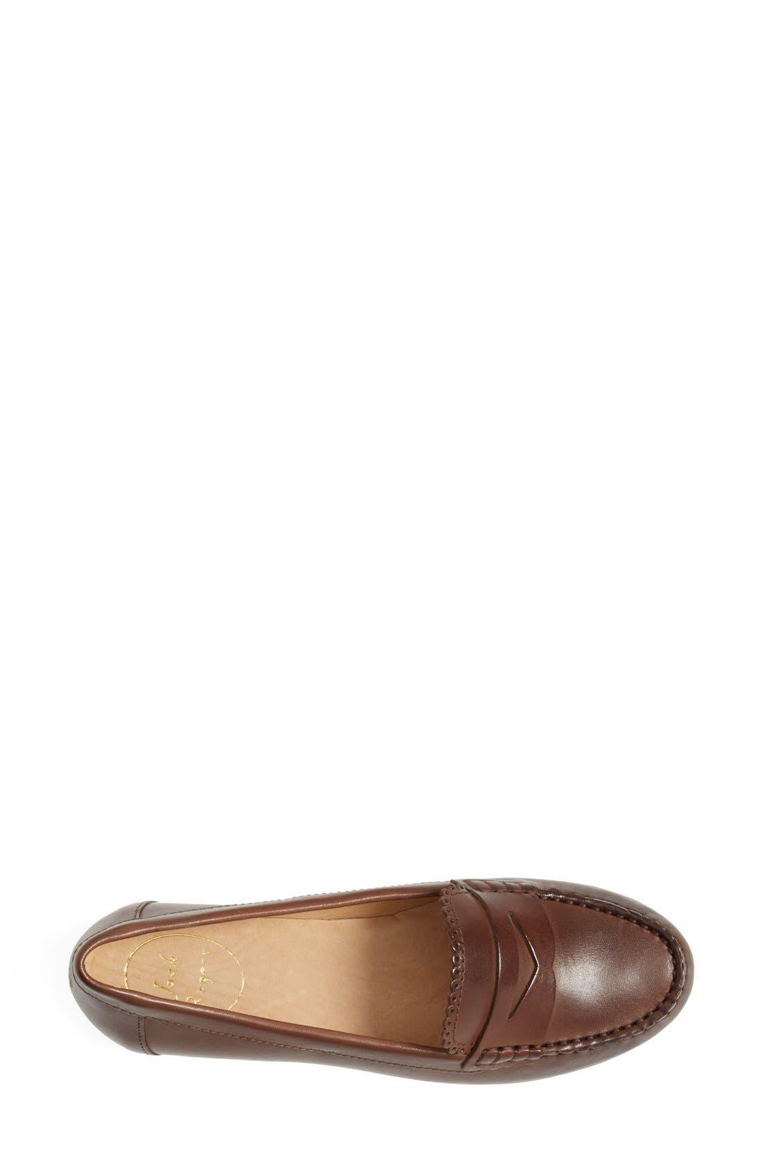 'Quinn' Leather Loafer,                             Alternate thumbnail 15, color,