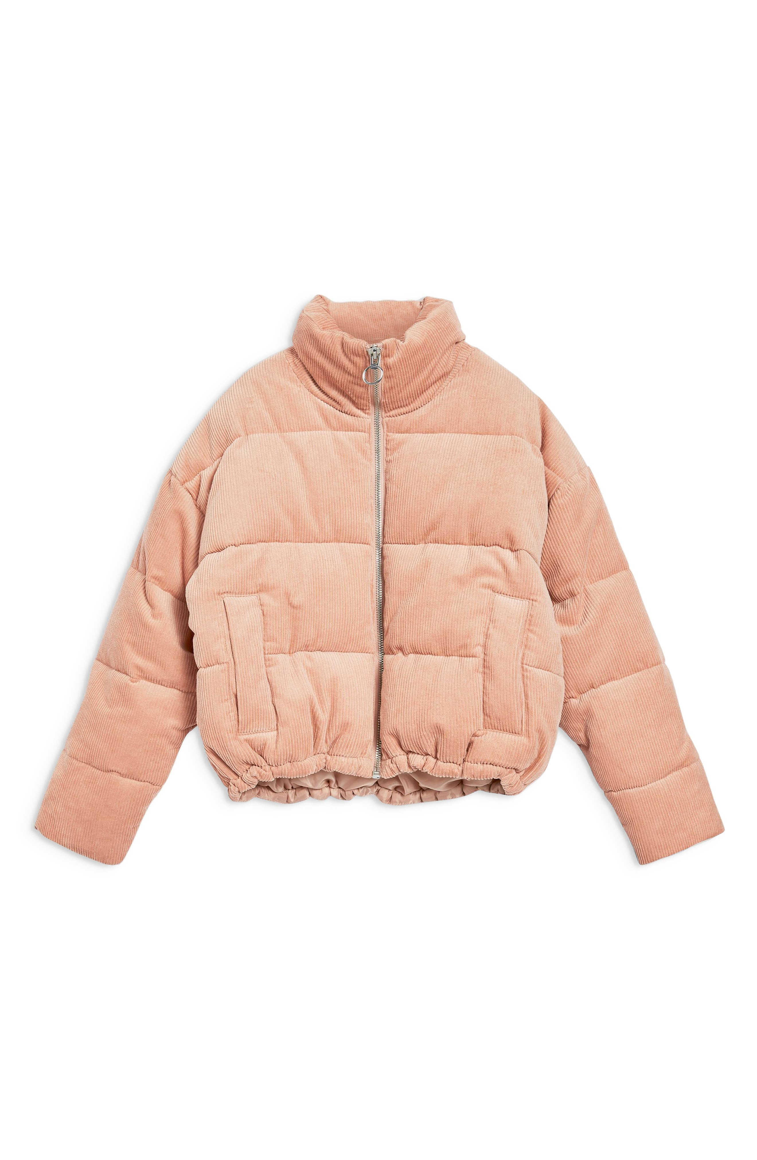 Corduroy Puffer Jacket,                             Alternate thumbnail 6, color,                             650