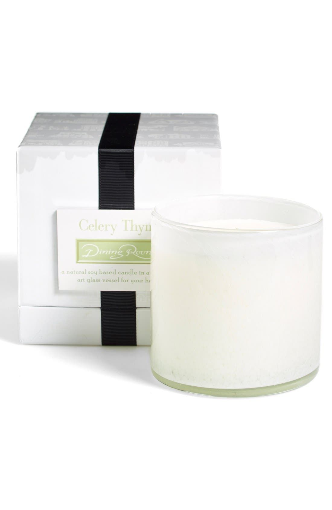 'Celery Thyme - Dining Room' Candle,                             Alternate thumbnail 3, color,                             NO COLOR