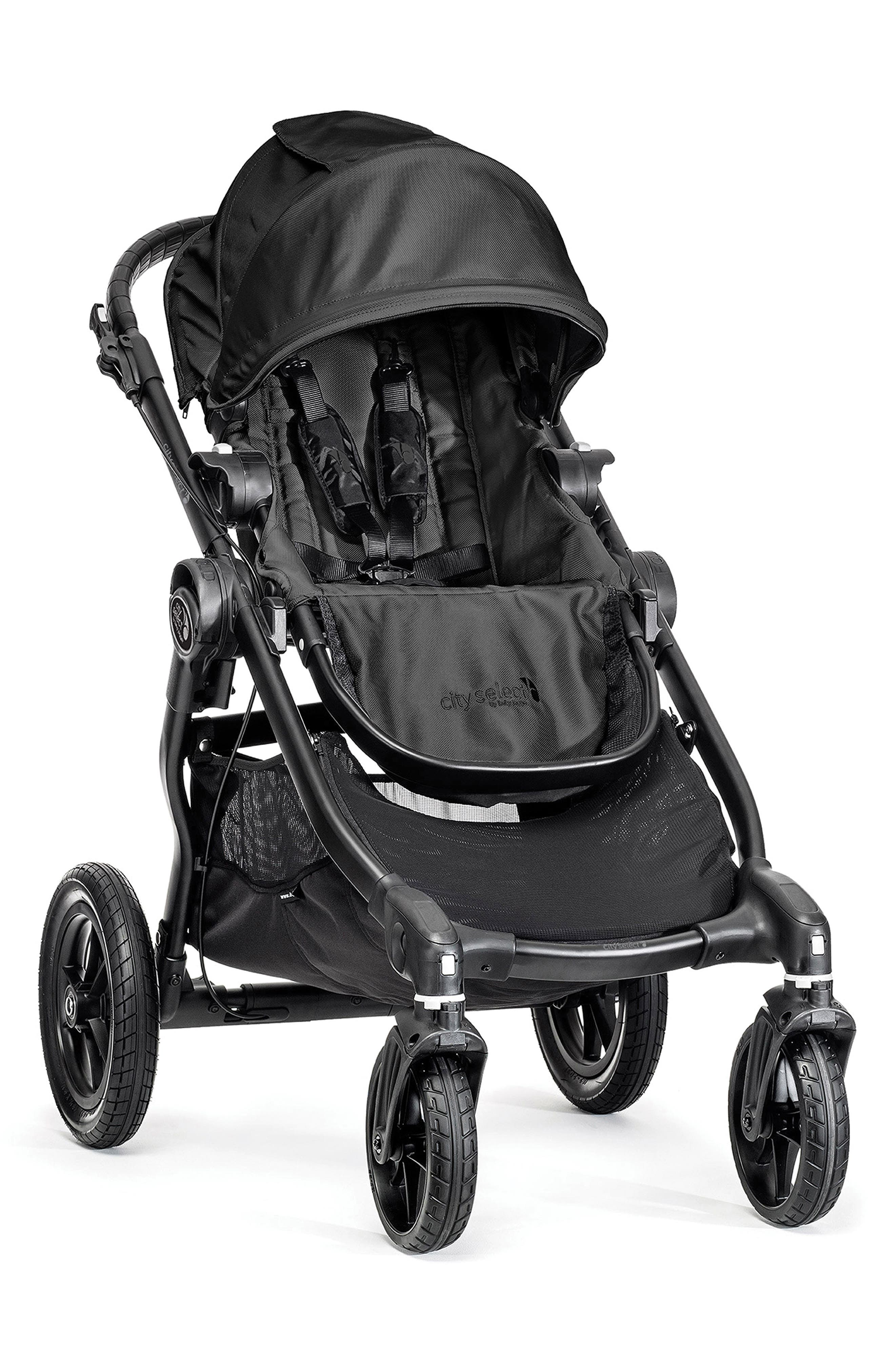 City Select<sup>®</sup> Stroller & Belly Bar,                         Main,                         color, BLACK