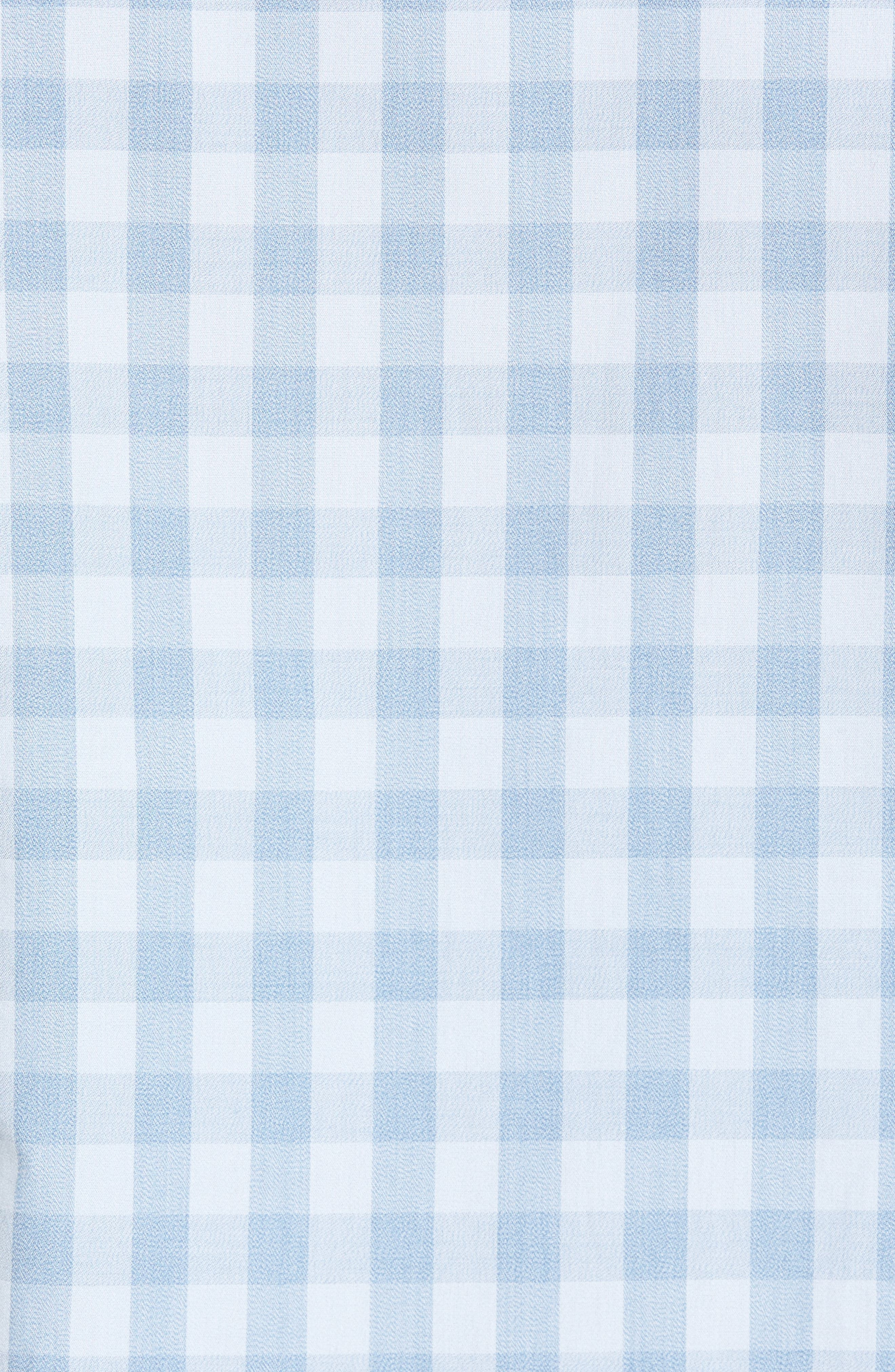 Trim Fit Washed Check Workwear Shirt,                             Alternate thumbnail 5, color,                             450