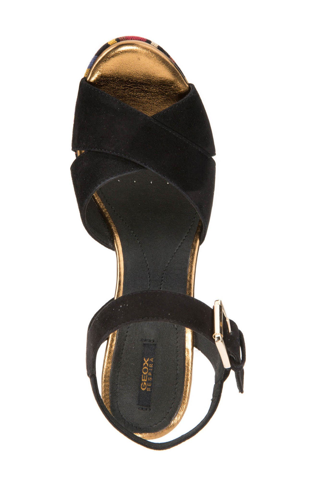 Galene 3 Platform Sandal,                             Alternate thumbnail 5, color,                             001