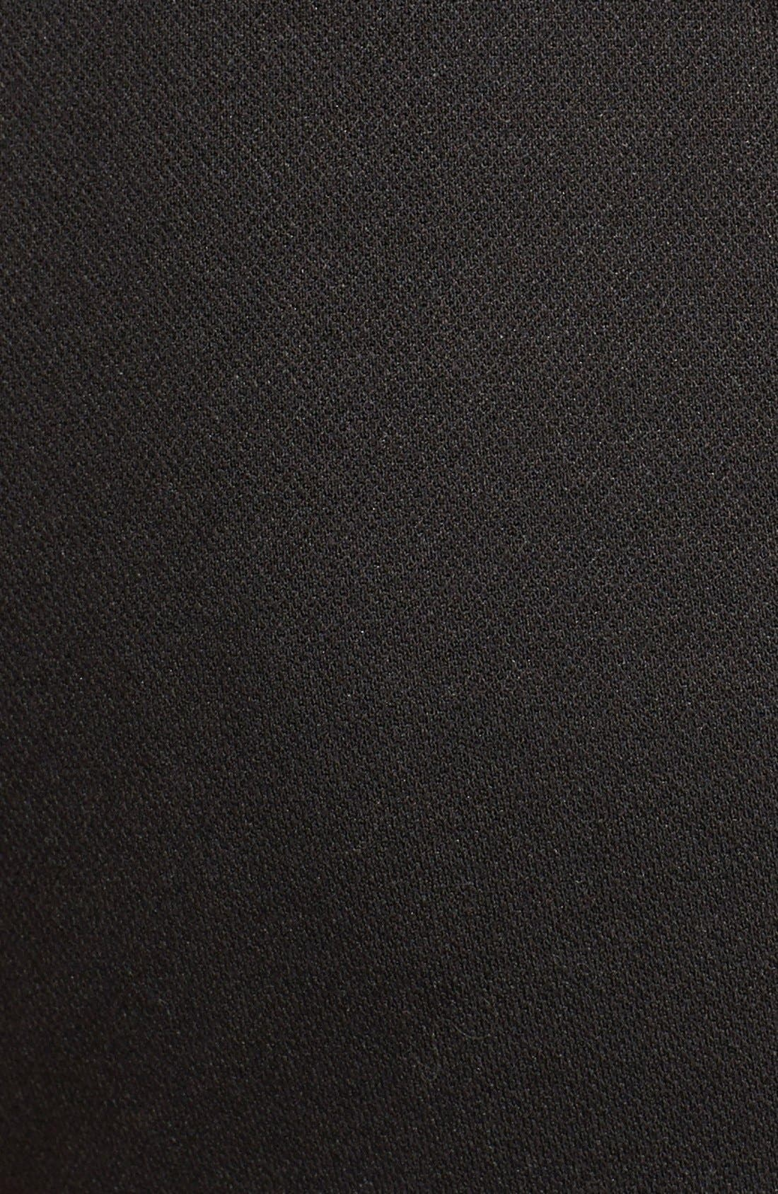 Keyhole Ponte Knit Maternity Dress,                             Alternate thumbnail 6, color,