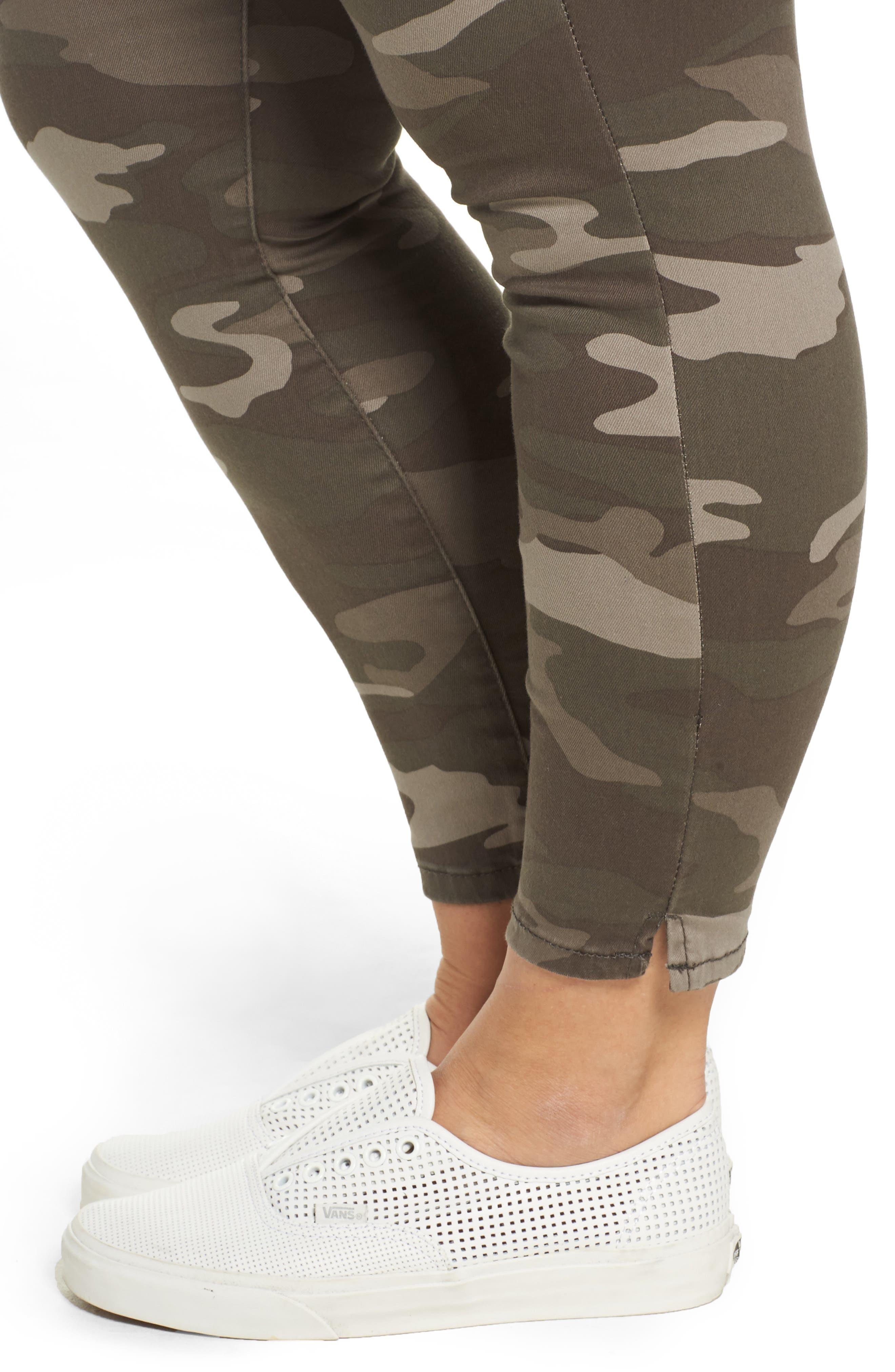 Ab-solution Camo Skinny Pants,                             Alternate thumbnail 4, color,                             250