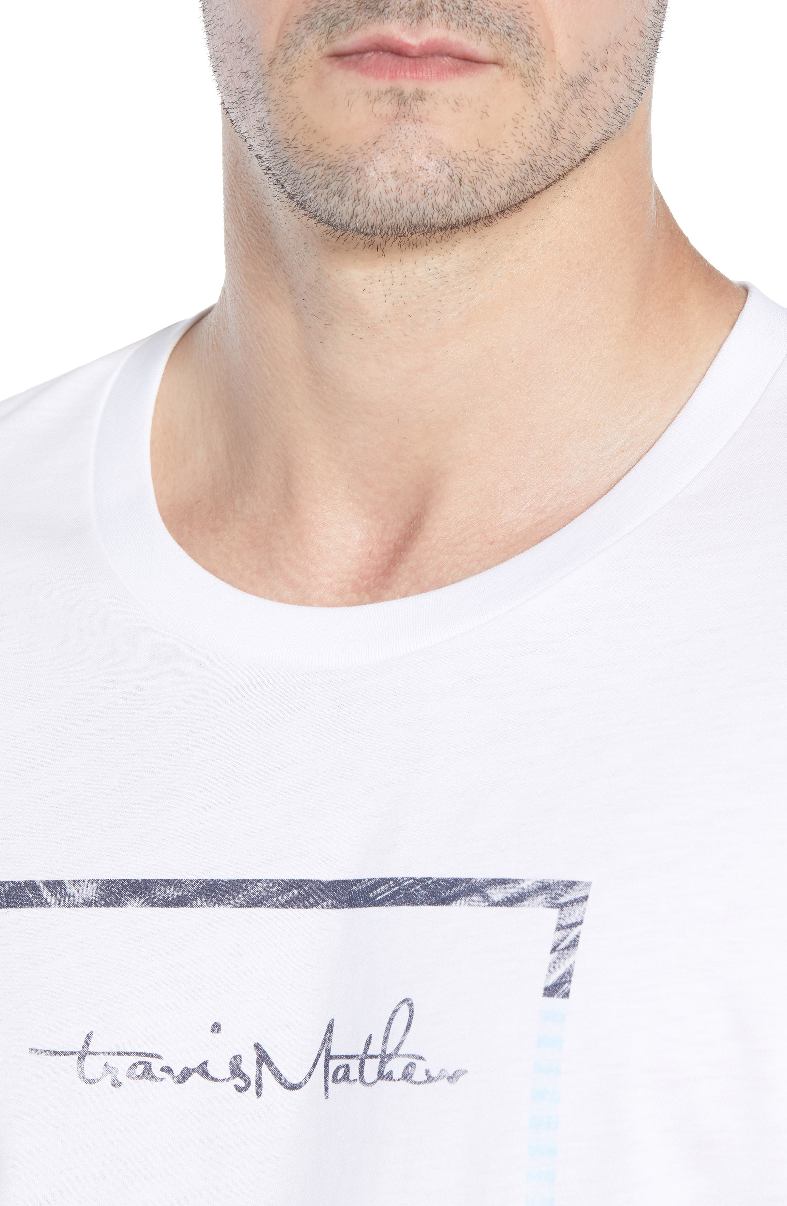 That Box Crewneck T-Shirt,                             Alternate thumbnail 4, color,                             100