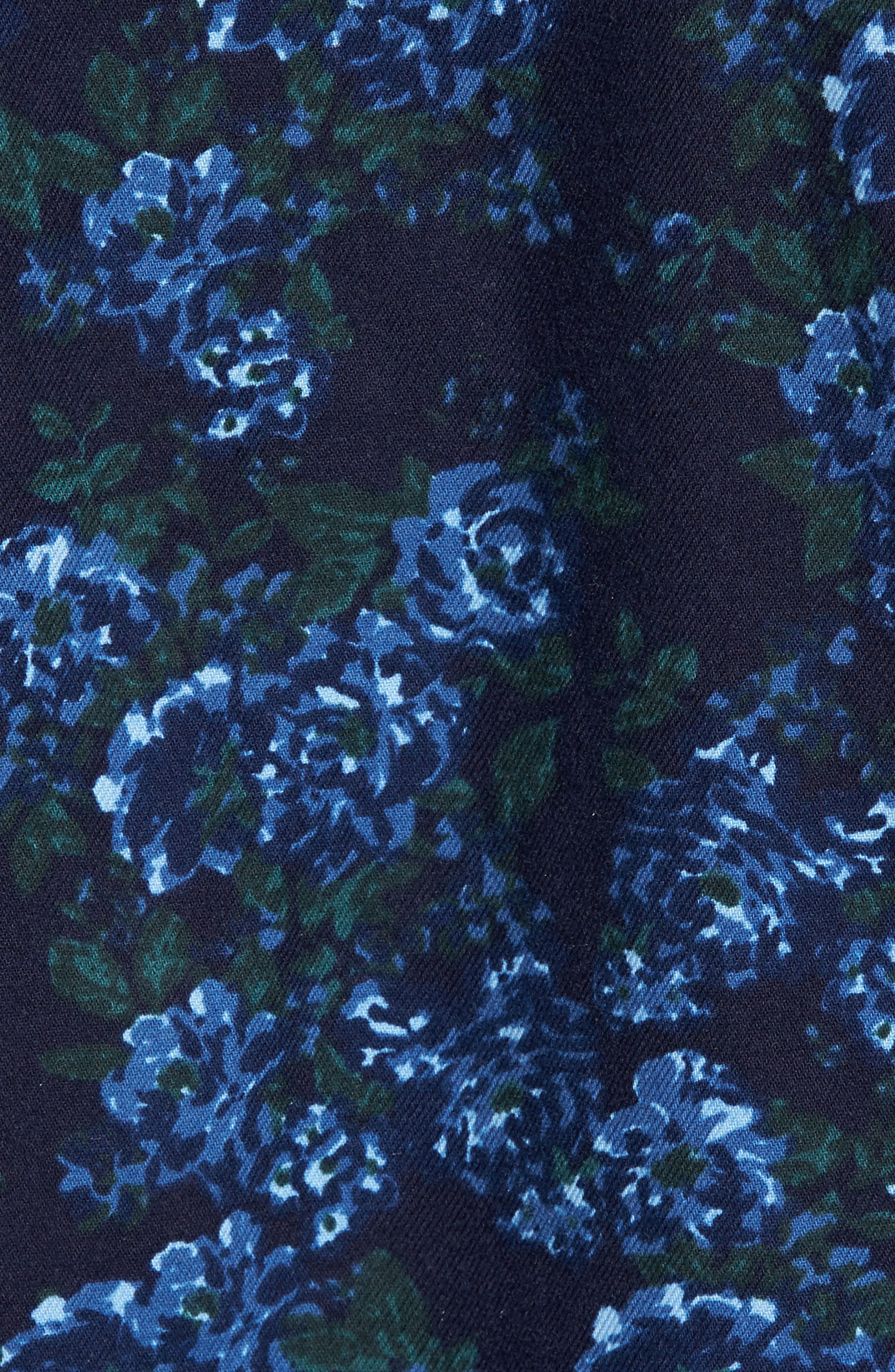 Print Flannel Shirt,                             Alternate thumbnail 15, color,