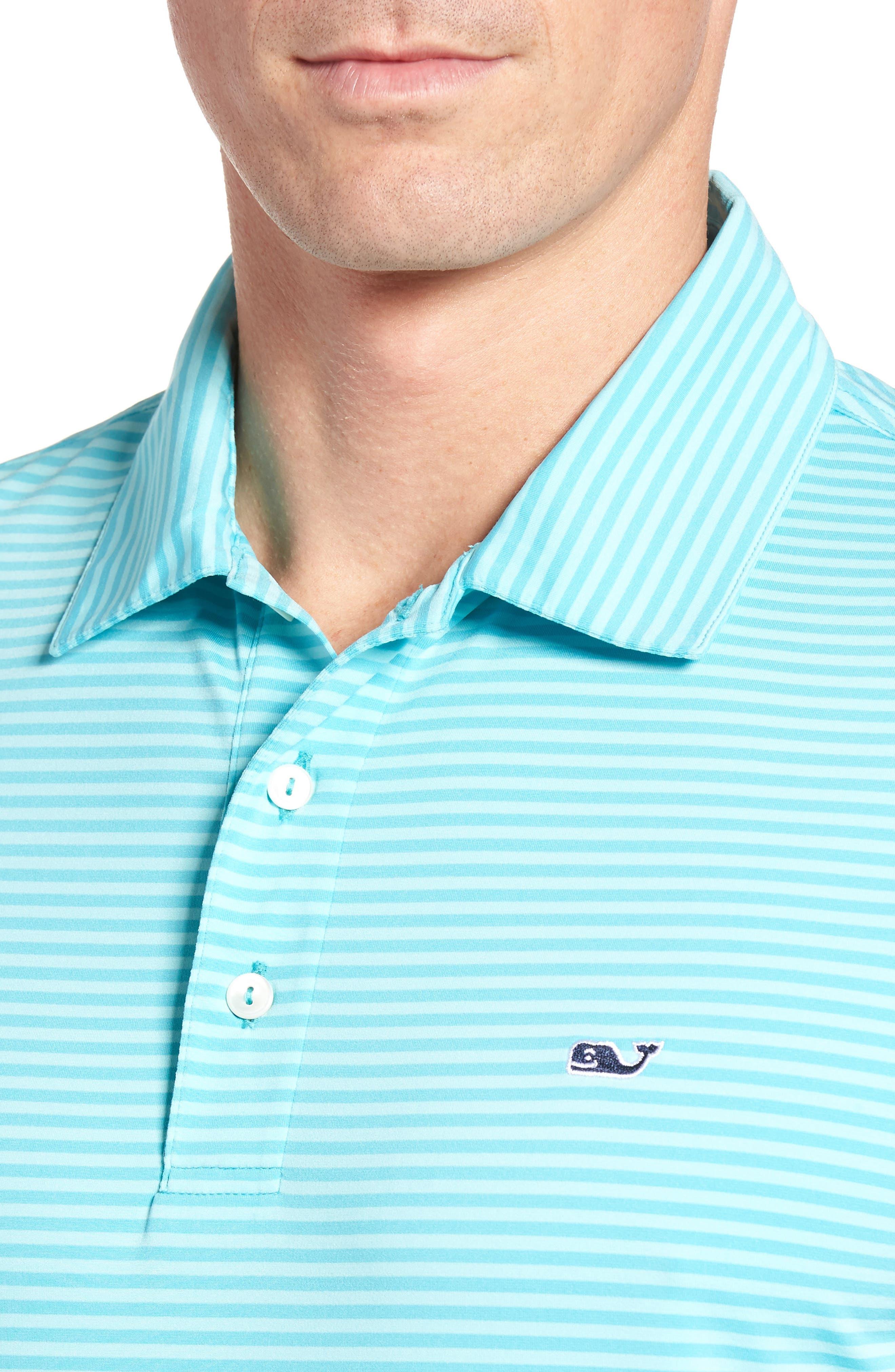 Kennedy Stripe Golf Polo,                             Alternate thumbnail 70, color,